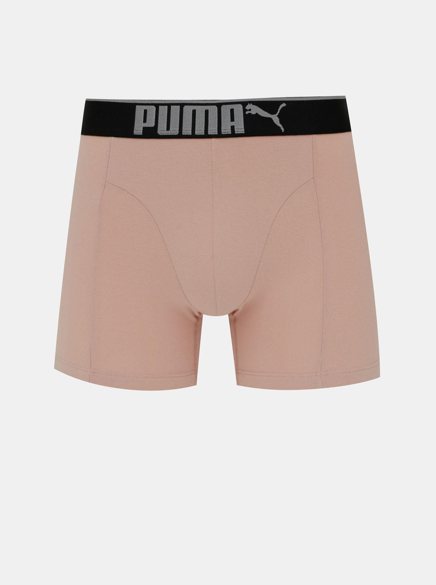 Set of three boxers in black and gray Puma color