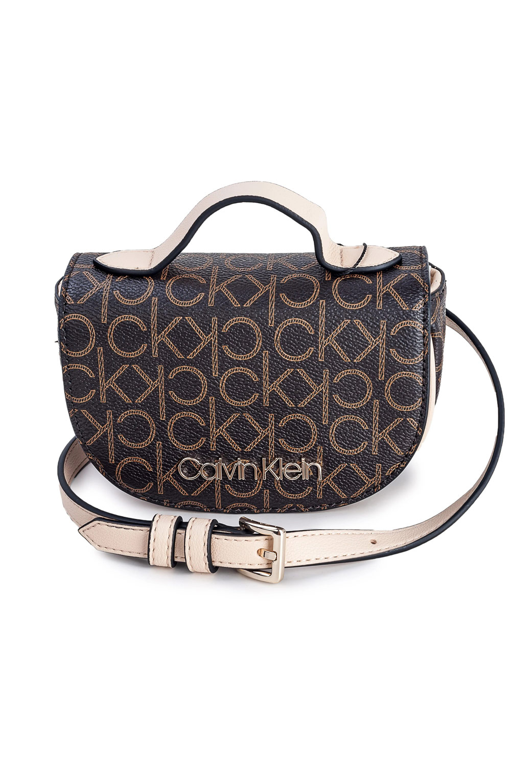 Calvin Klein brown bum bag Saddle Balt Bag