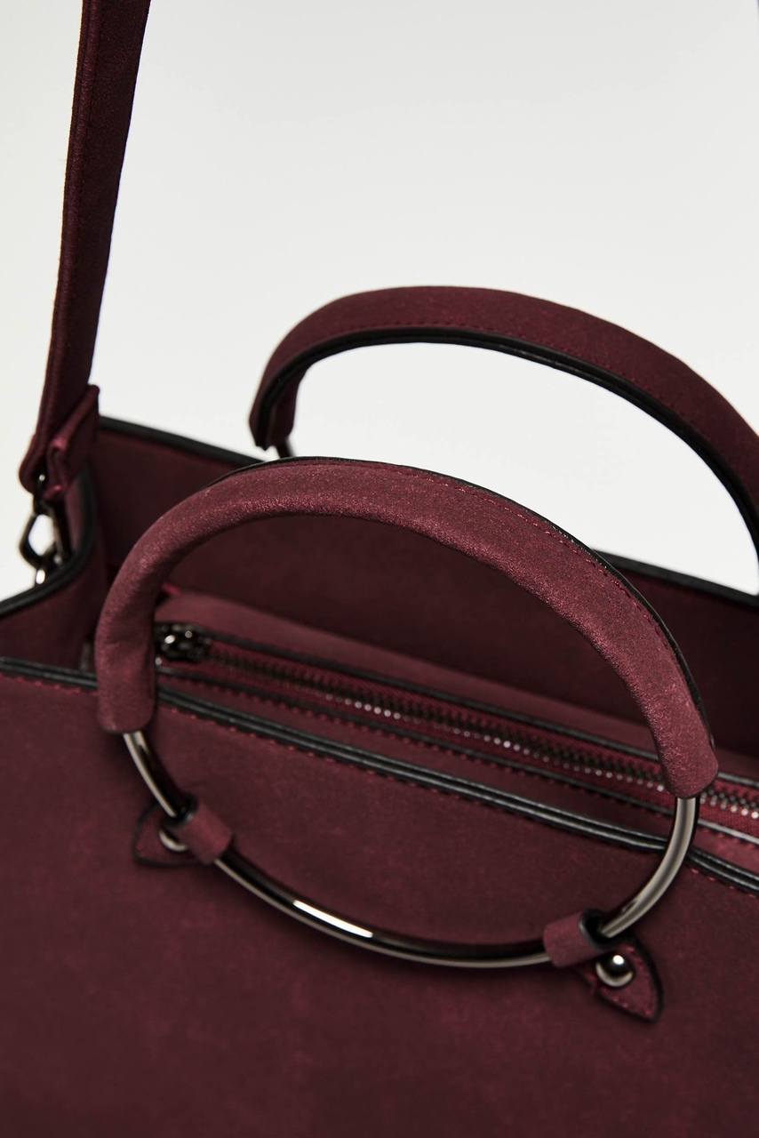 Moodo wine / bordo crossbody handbag