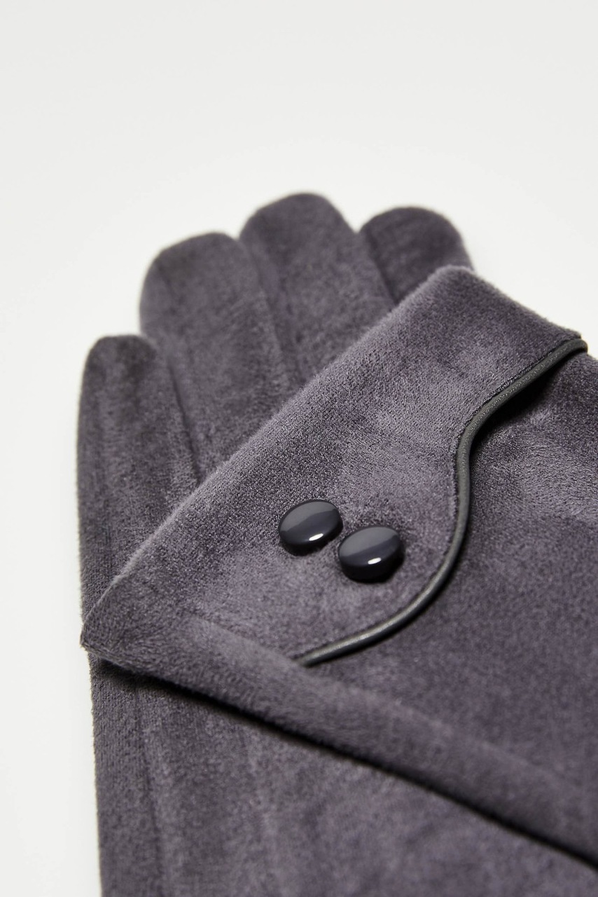 Moodo grey gloves