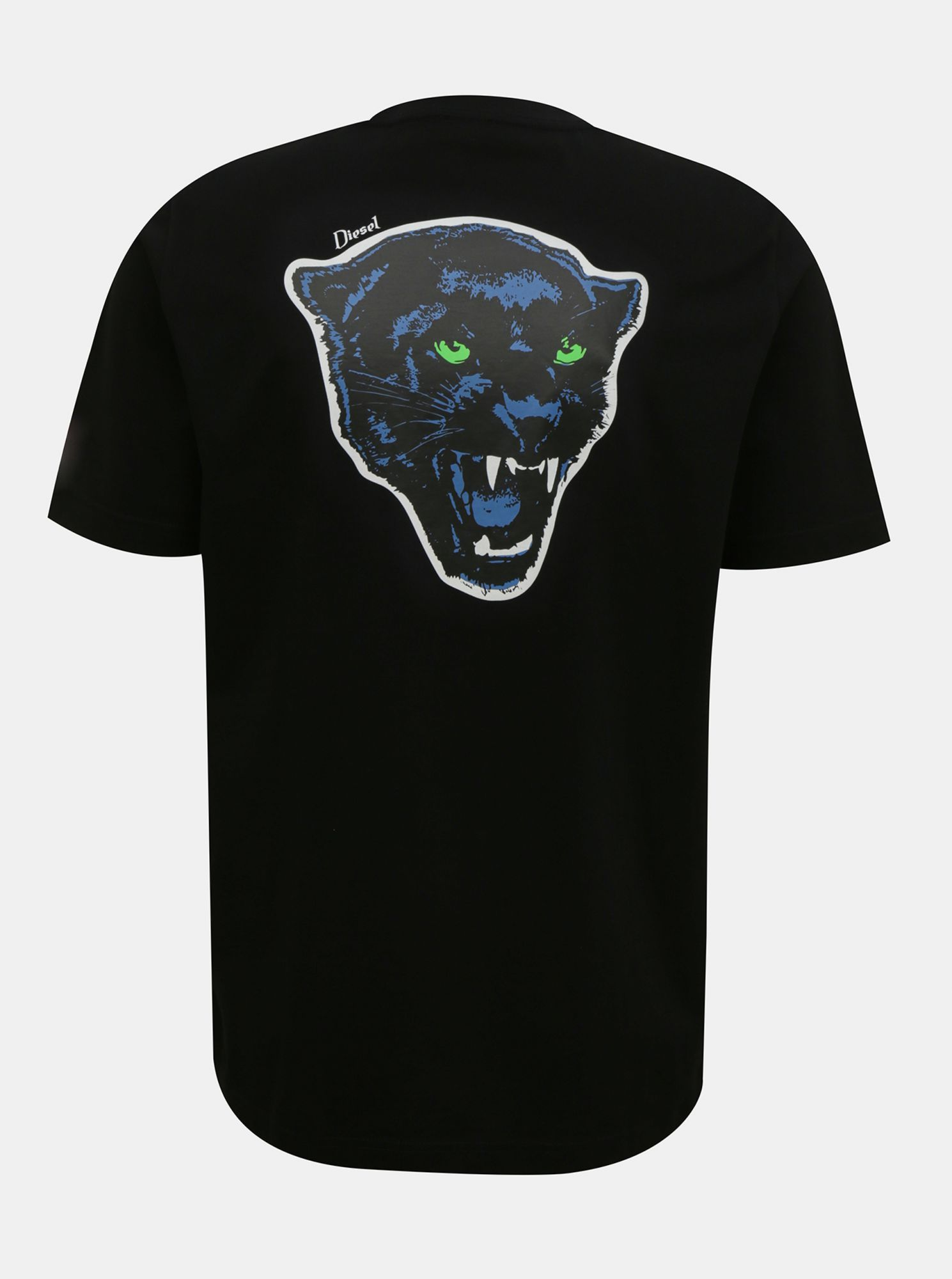 Black men's Diesel T-shirt
