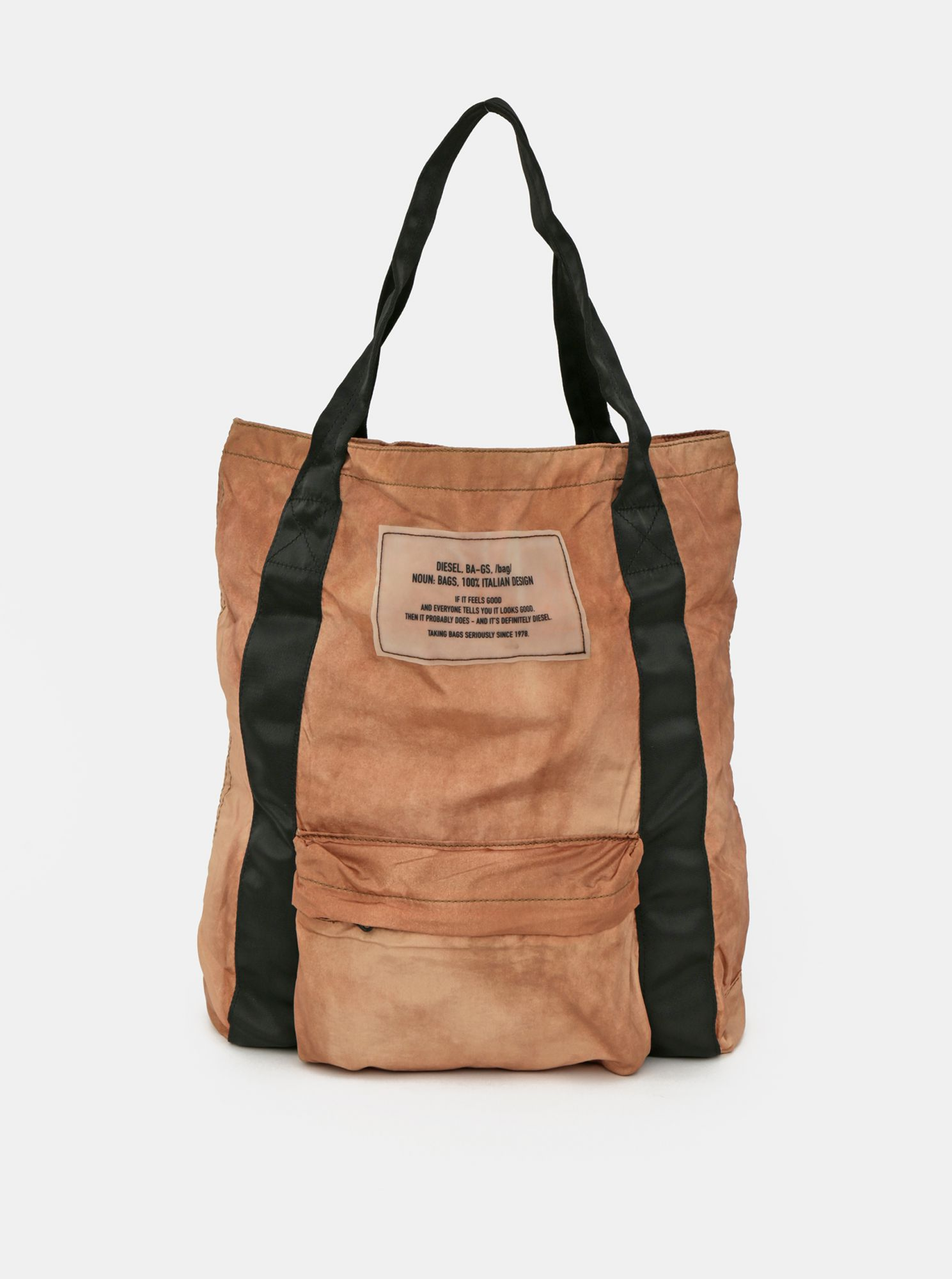 Brown women's Diesel bag