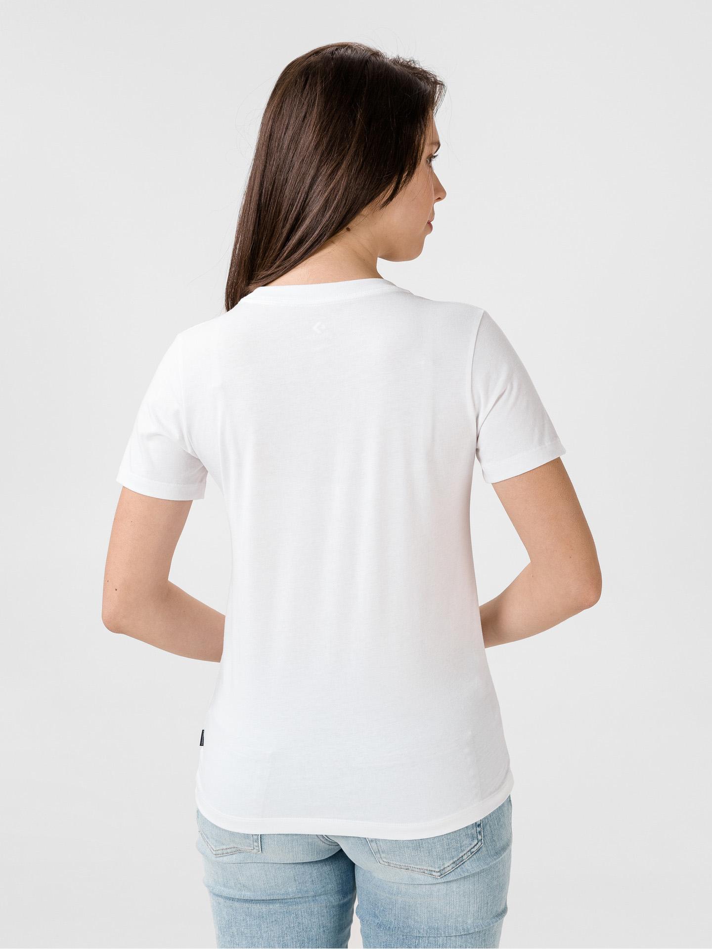 White women's Converse T-shirt