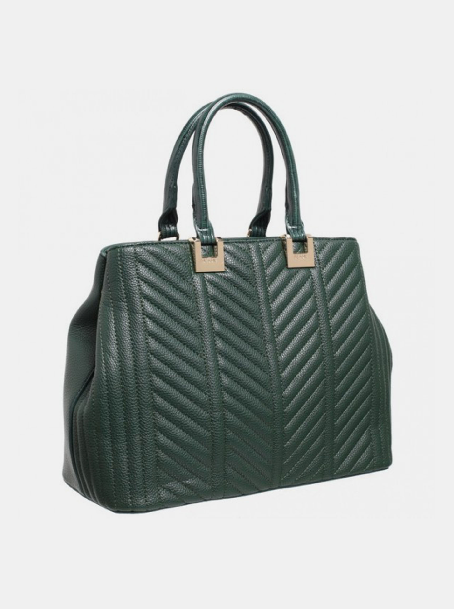 Bessie London green handbag