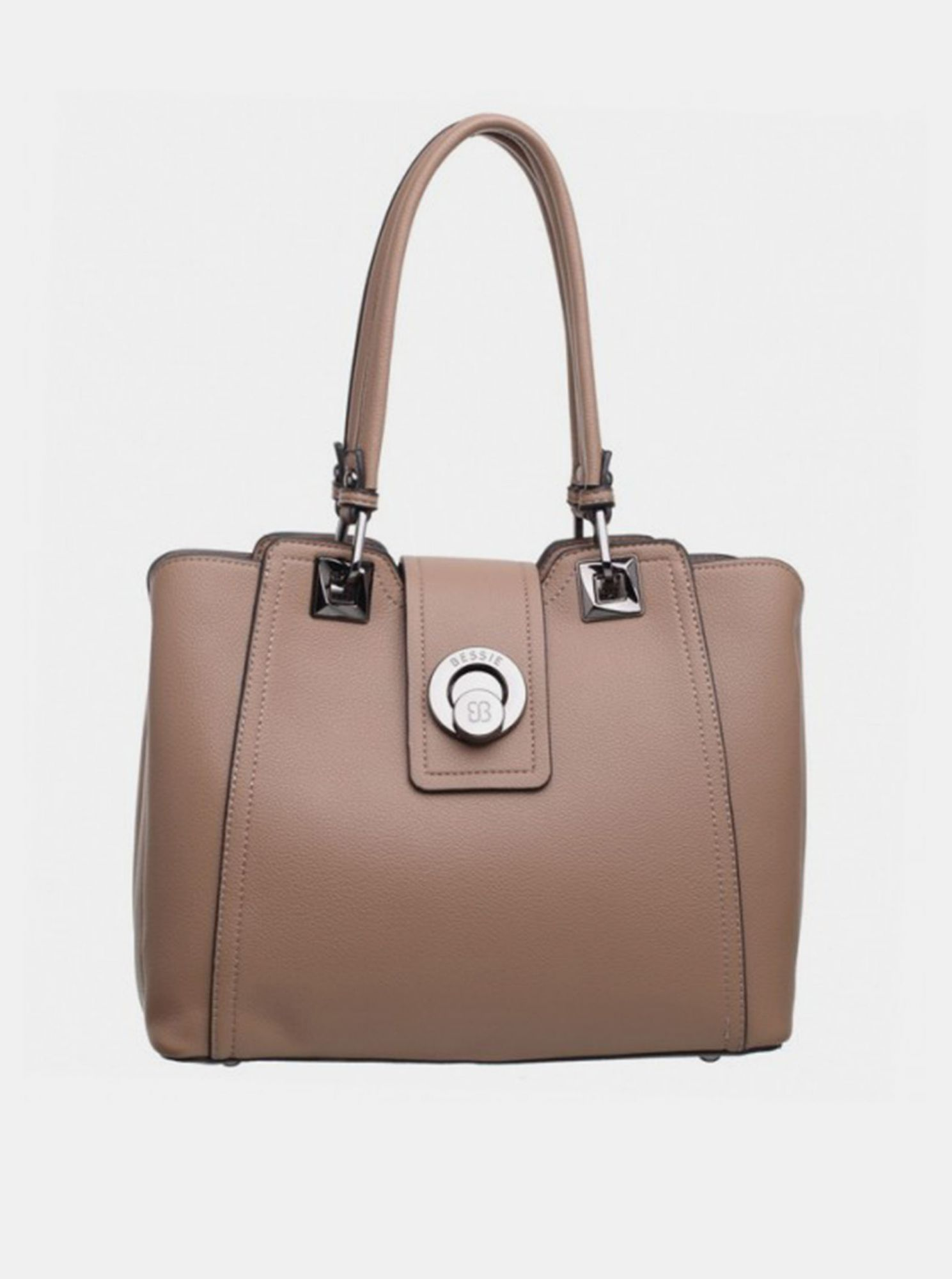 Beige Bessie London handbag