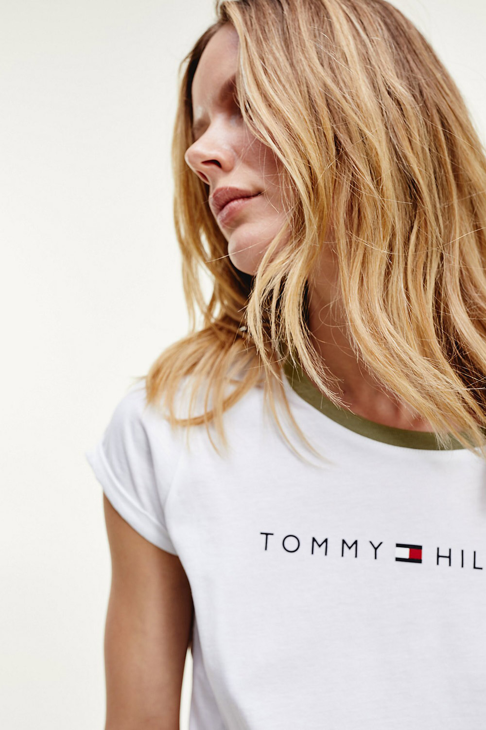 Tommy Hilfiger white T-shirt RN TEE SS