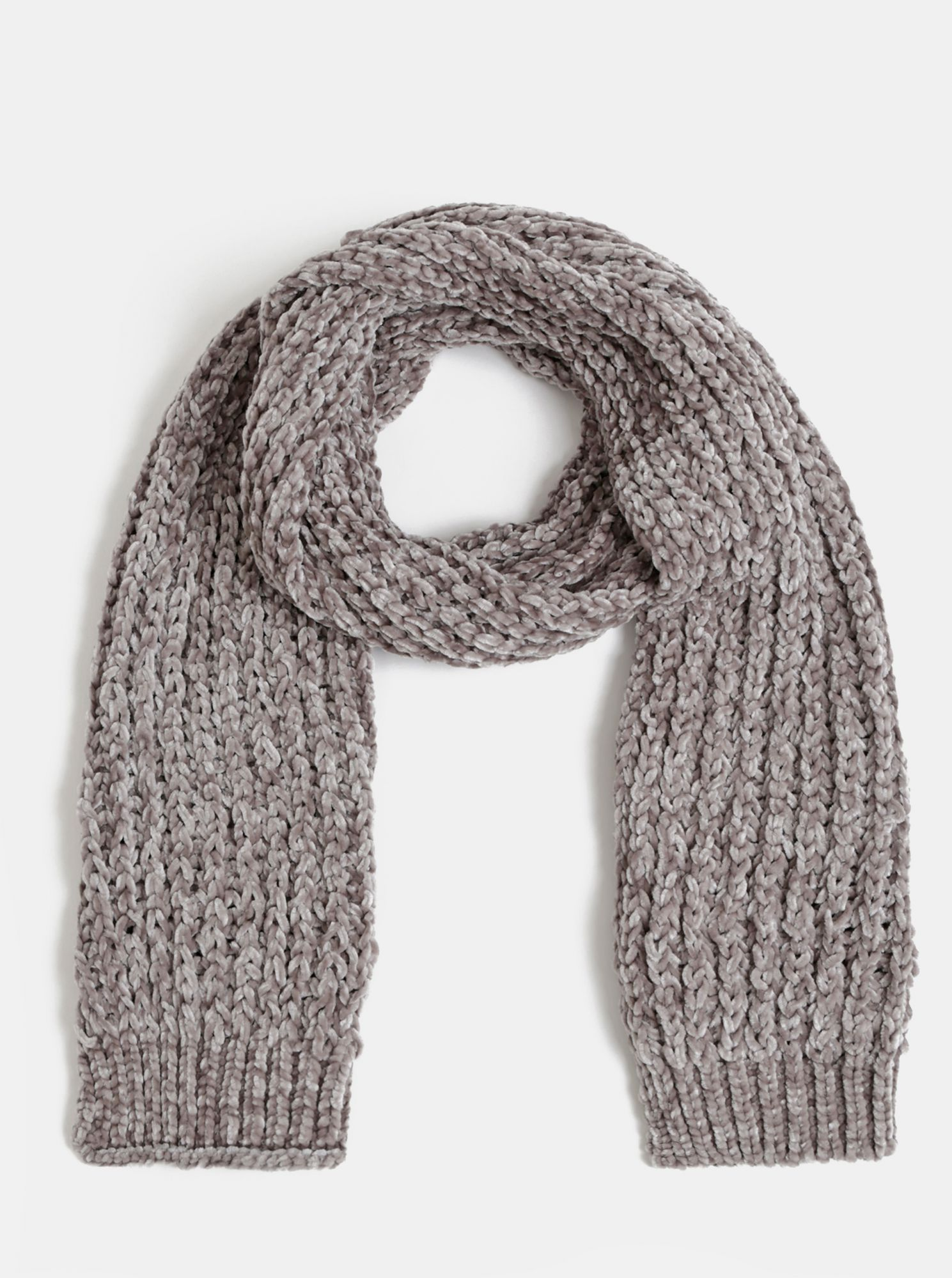 Gray women's scarf by Haily´s Bellina