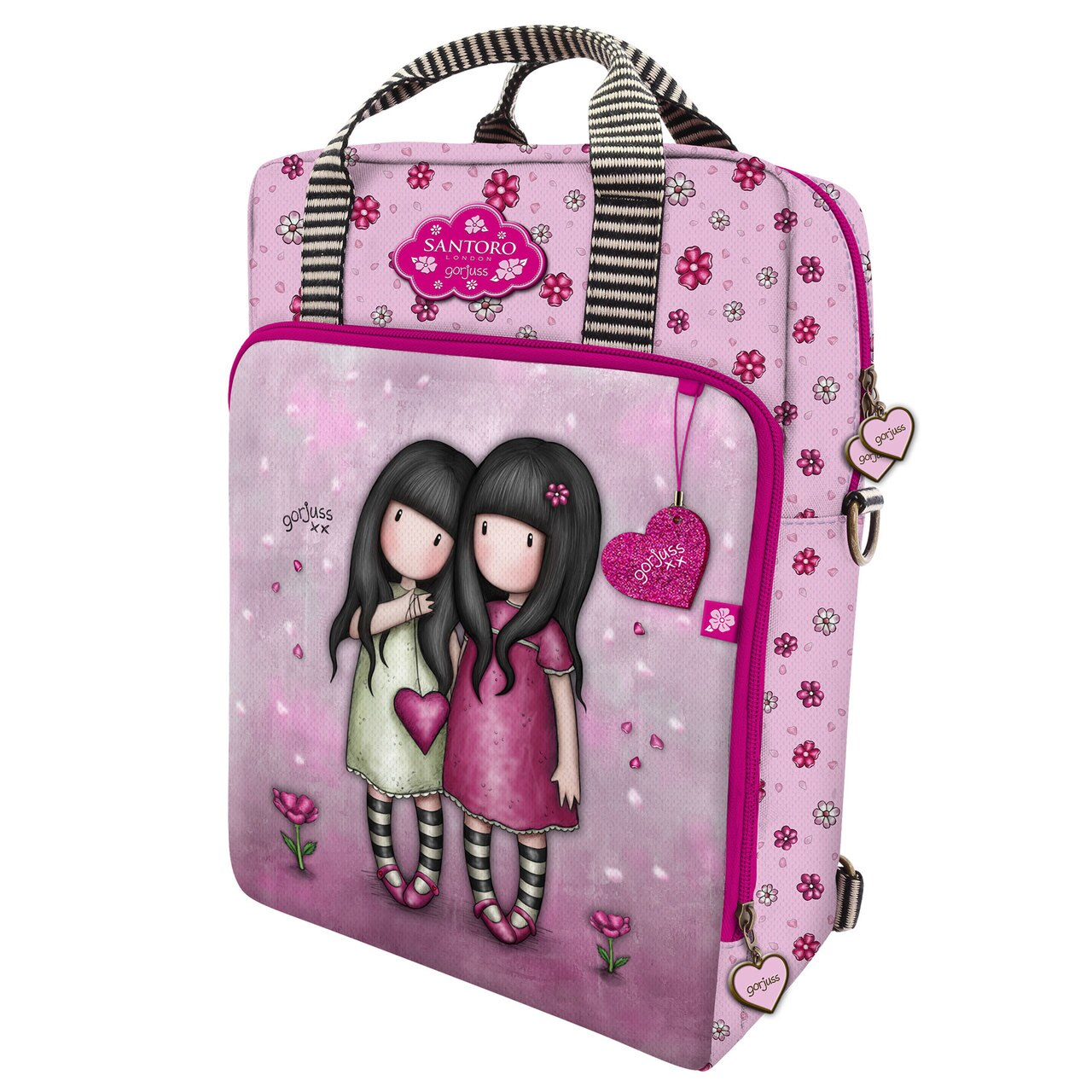 Santoro pink 2in1 backpack Gorjuss You Can Have Mine