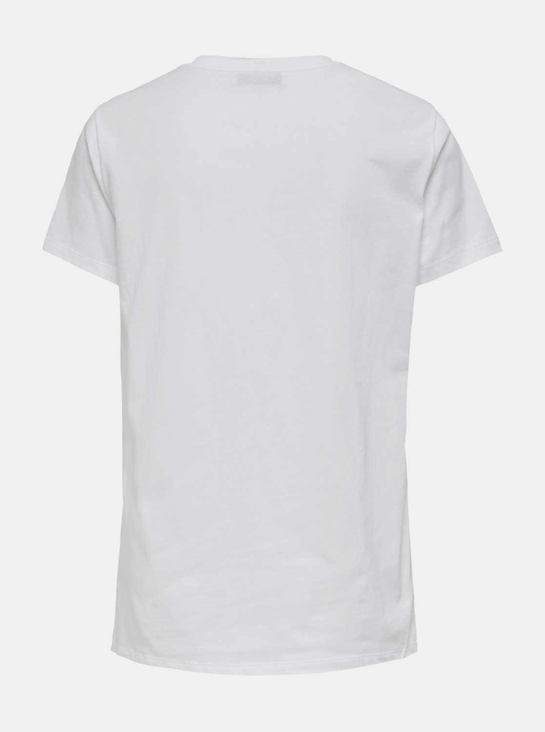White T-shirt with ONLY Gabriella print