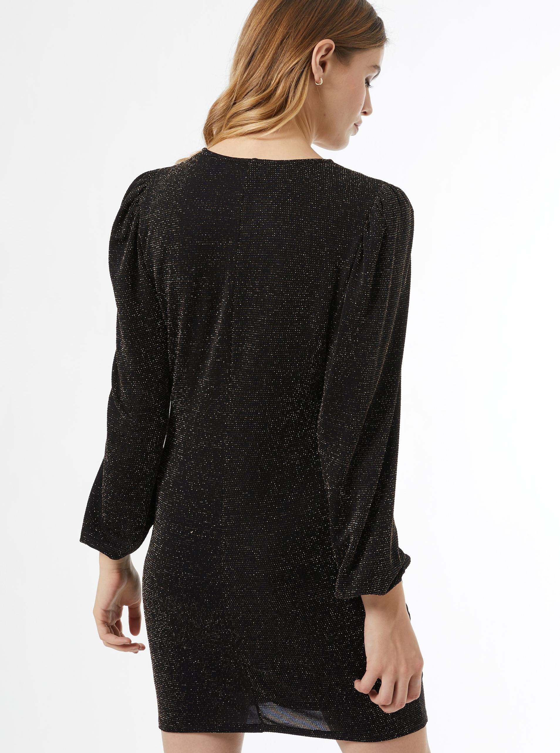 Dorothy Perkins black glittering dress