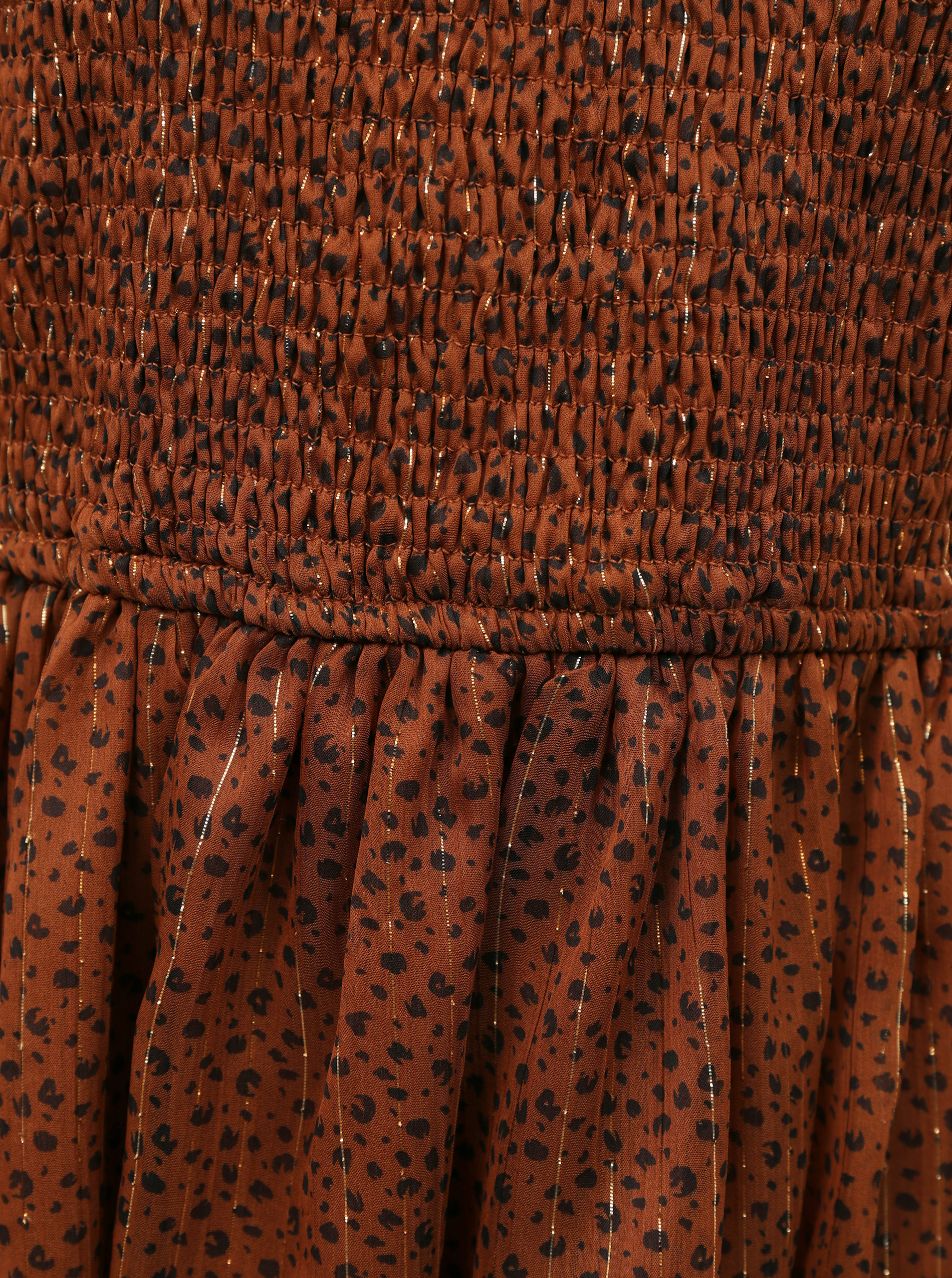 Vero Moda brown blouse with pattern