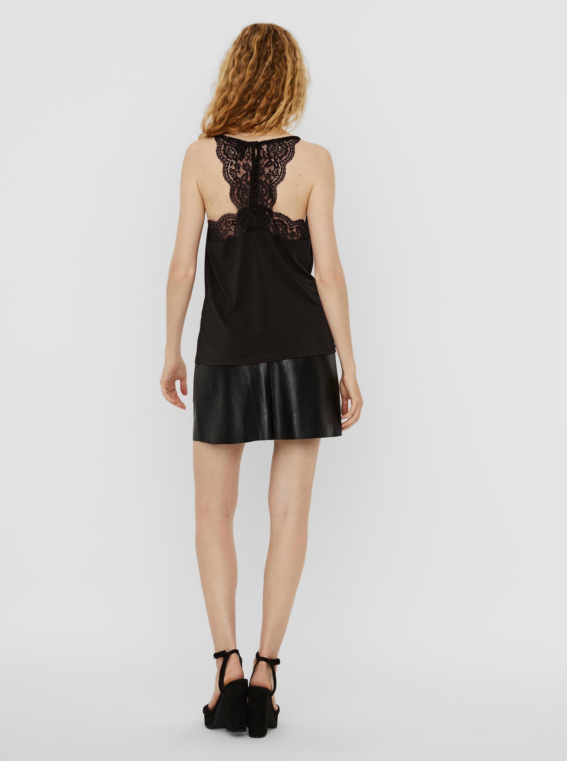 Vero Moda black top Ana