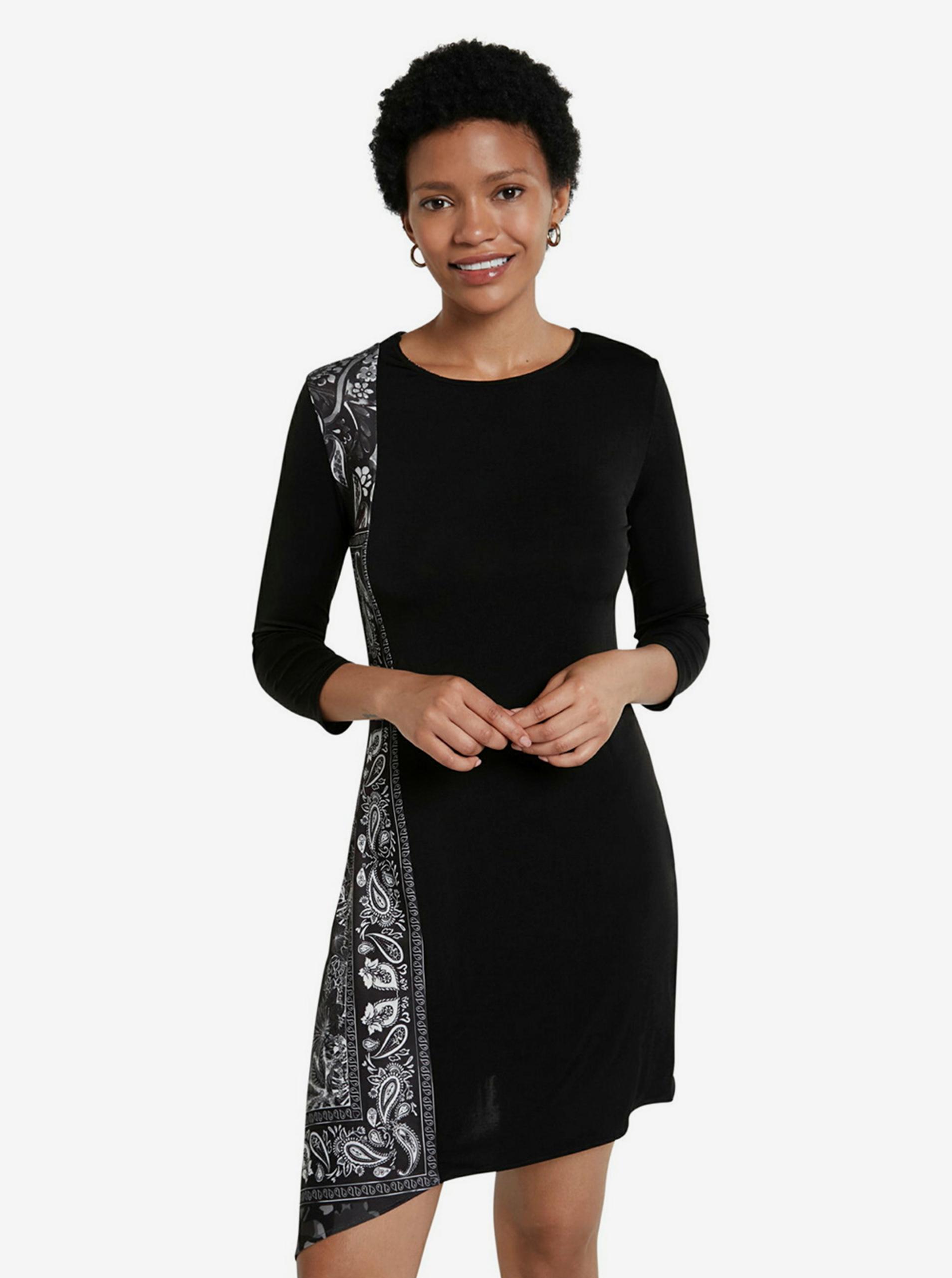 Desigual black dress Vest Los Angeles