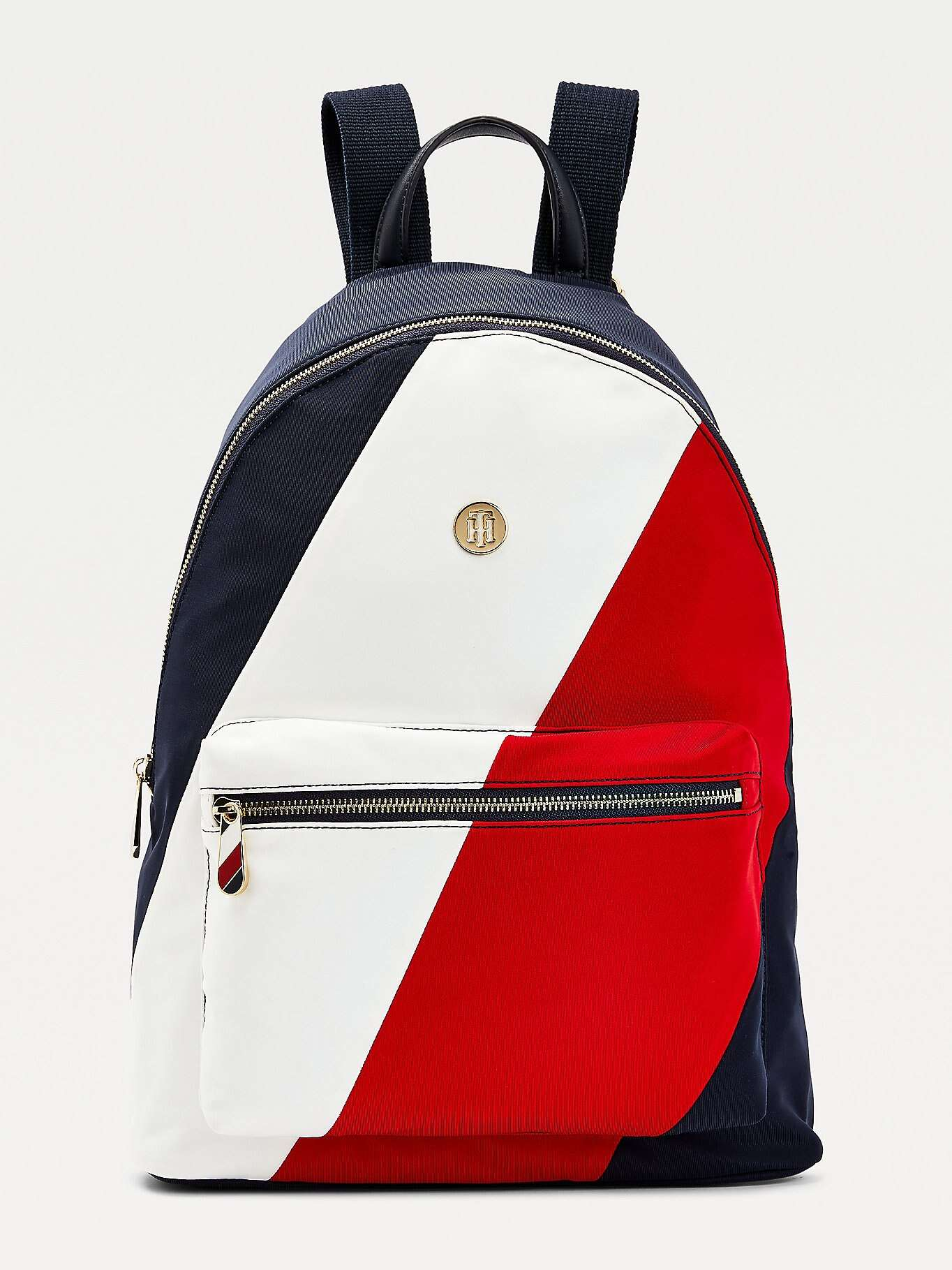 Tommy Hilfiger multicolor backpack Poppy Back Pack Soft Nylon Corporate Mix