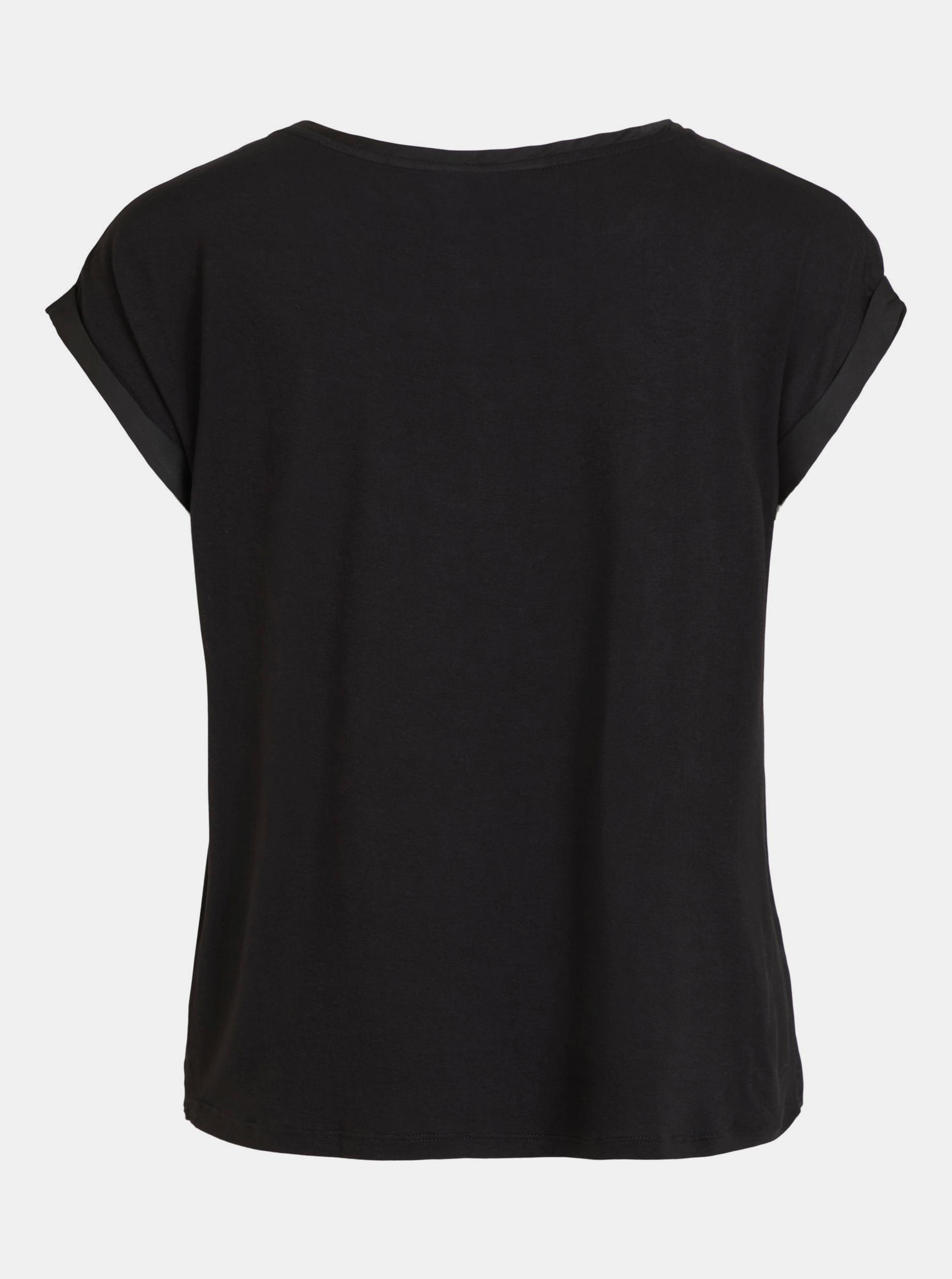 Vila black blouse