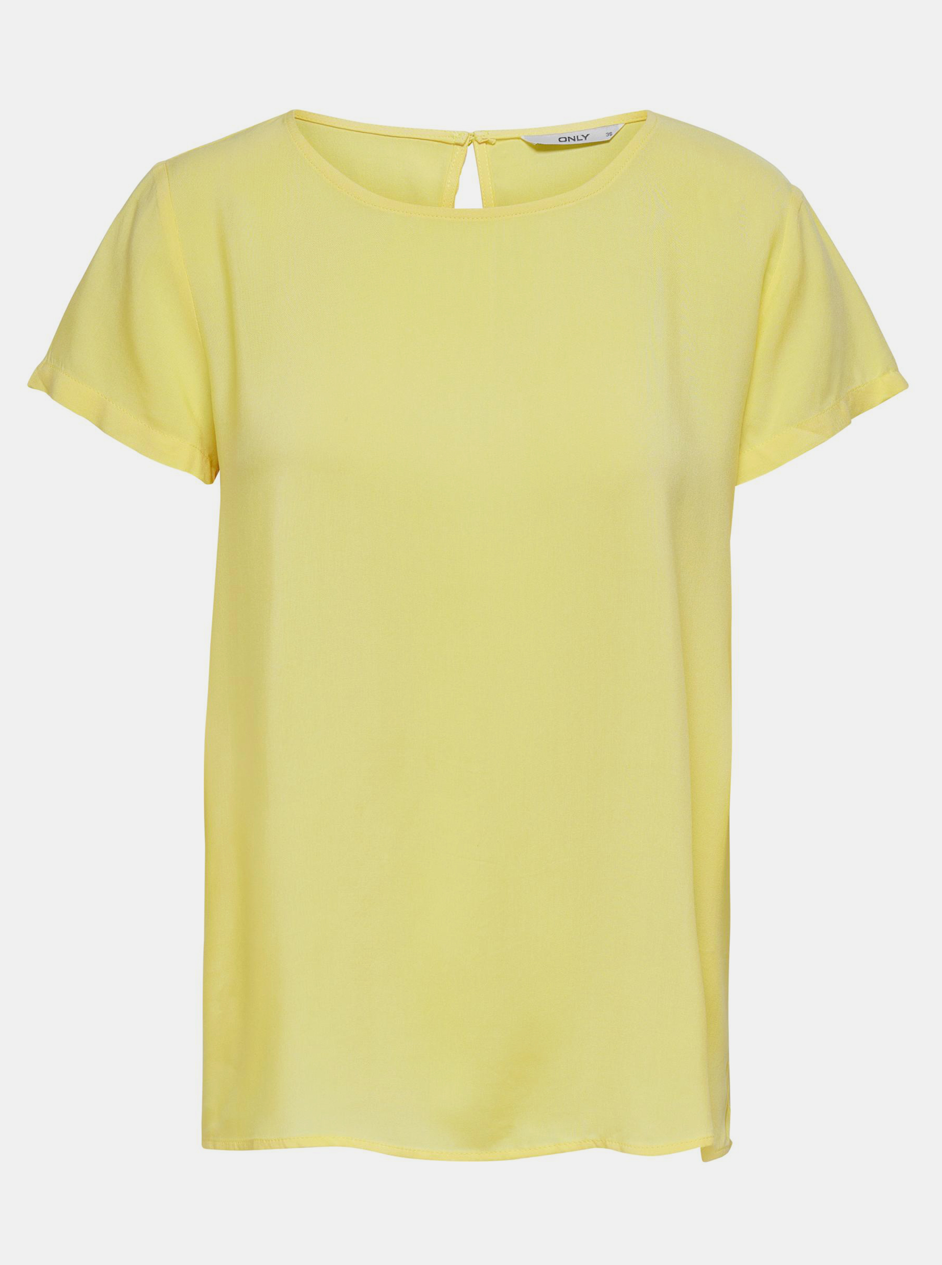 Only yellow women´s blouse