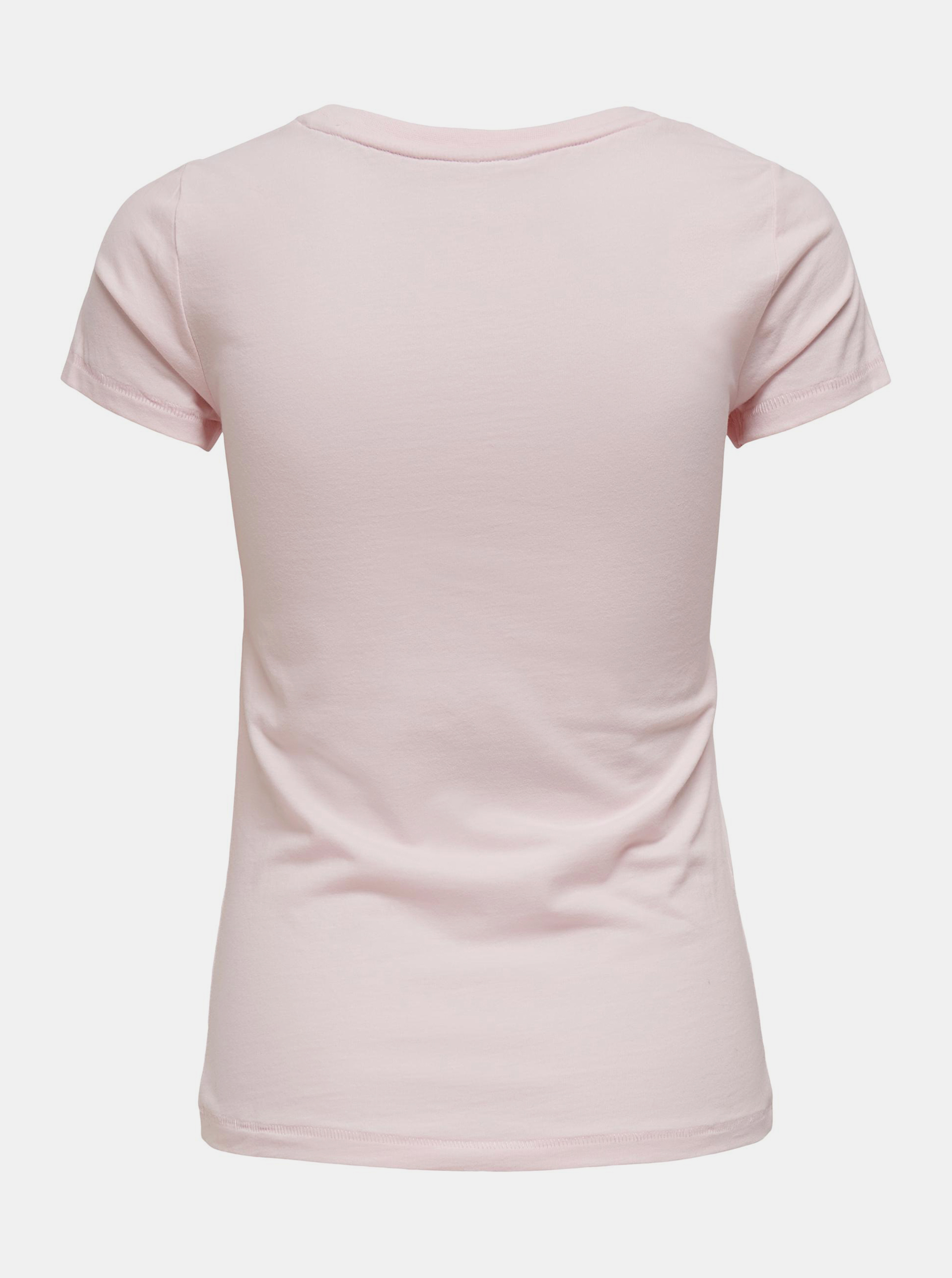Only pink women´s T-shirt Love with print