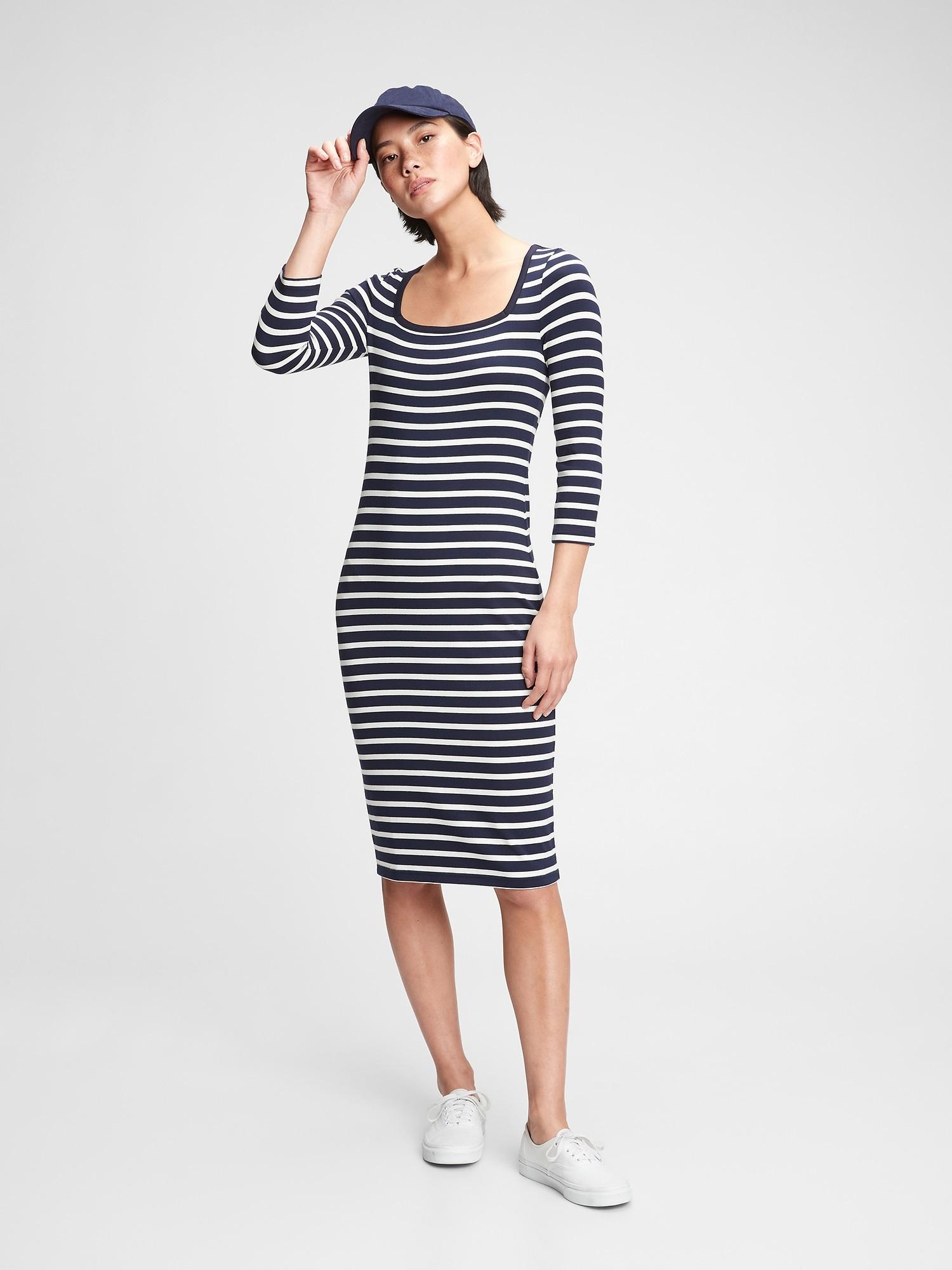GAP blue midi dress
