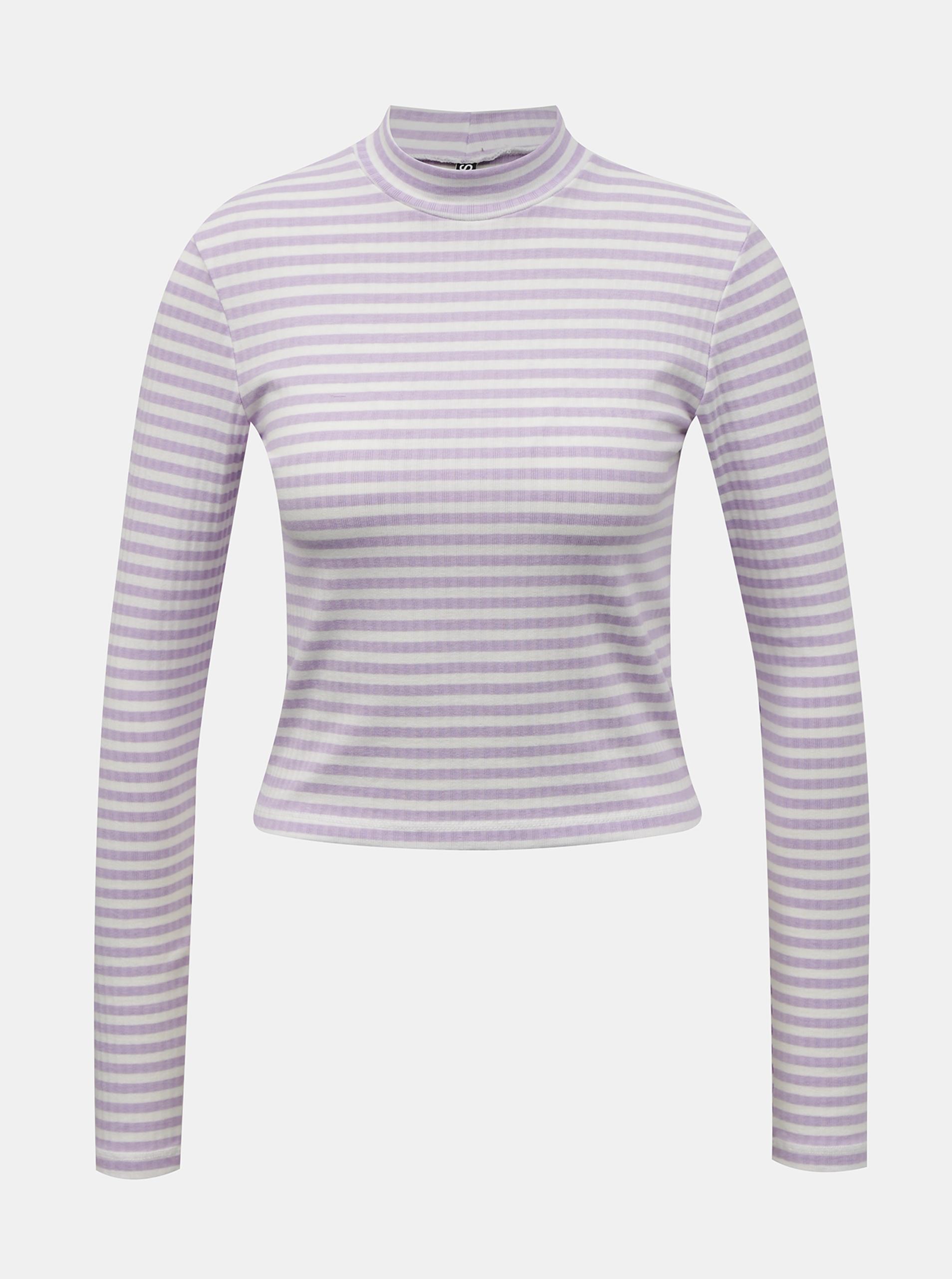 Pieces purple women´s T-shirt Raya