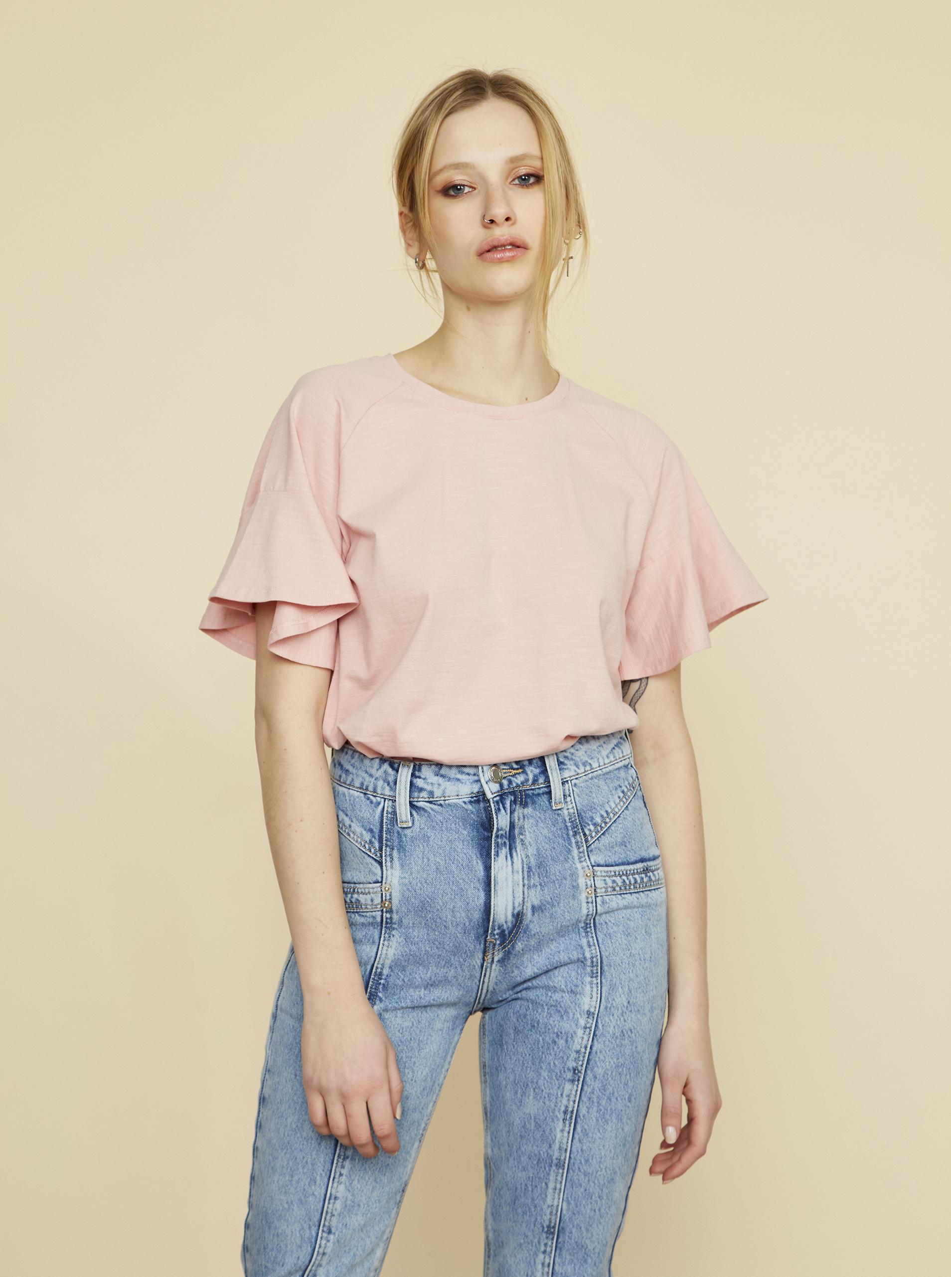 ZOOT pink women´s T-shirt Aurelia