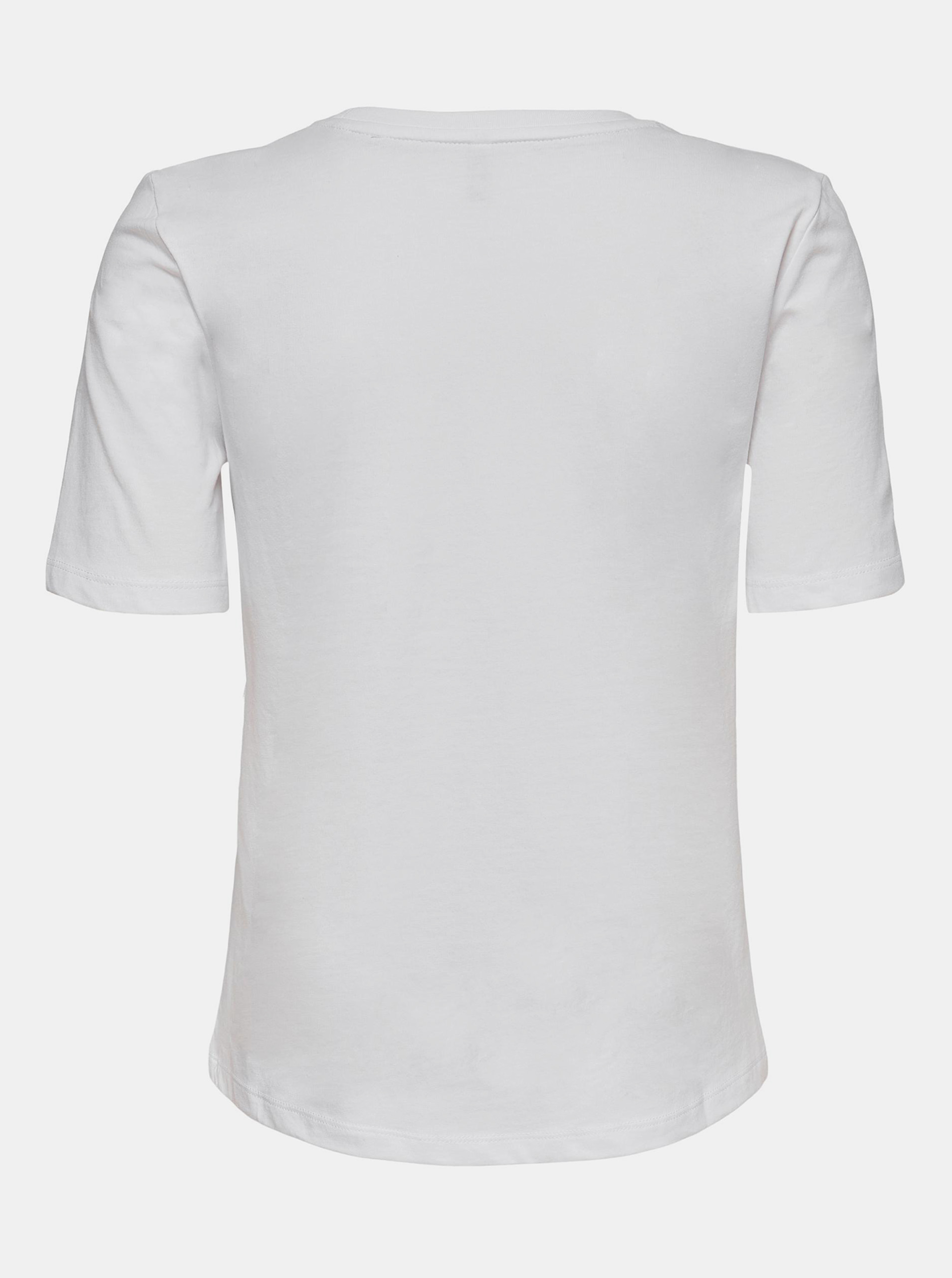 Only white T-shirt Fancy with print