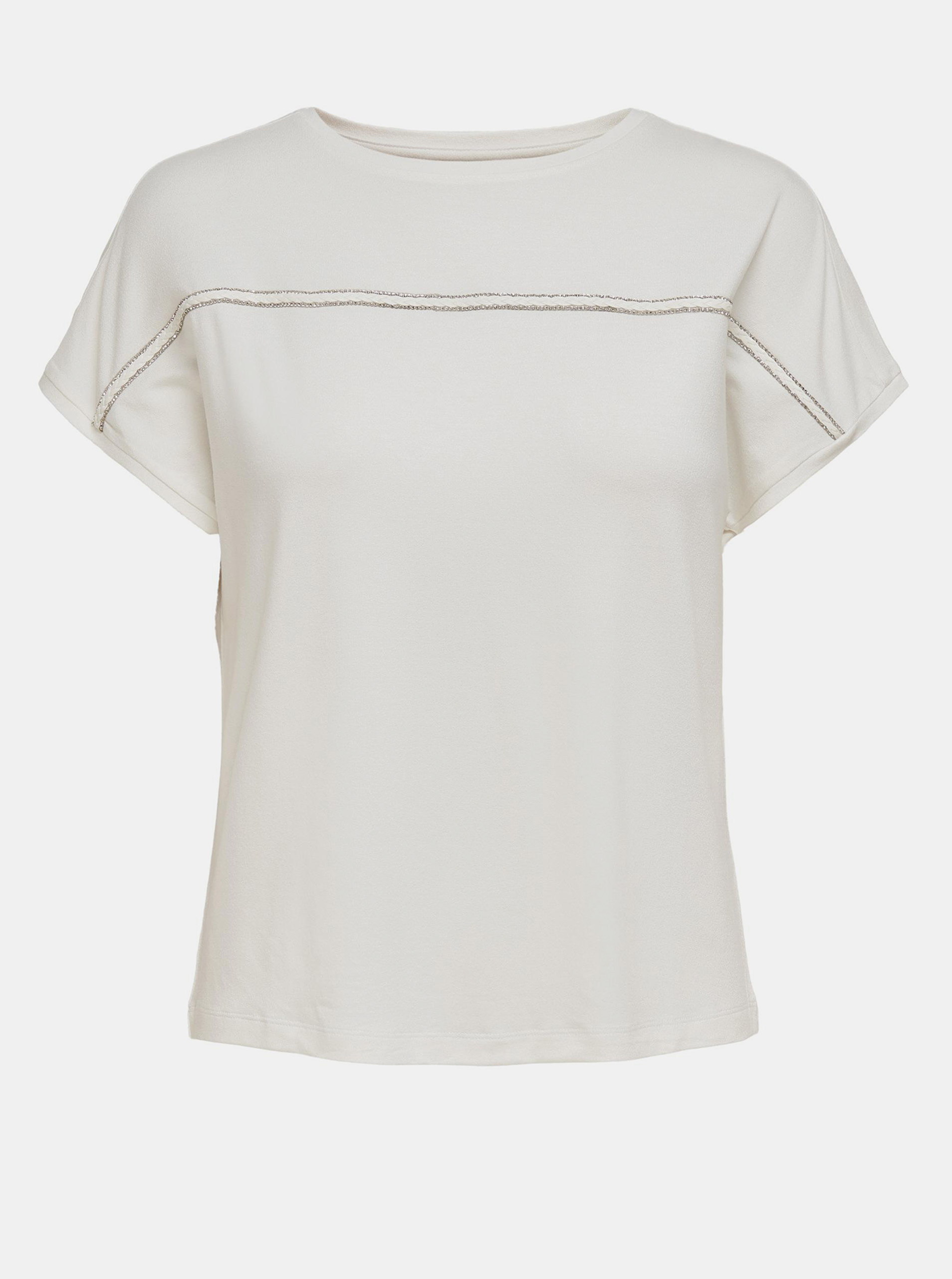 Only white blouse Sally