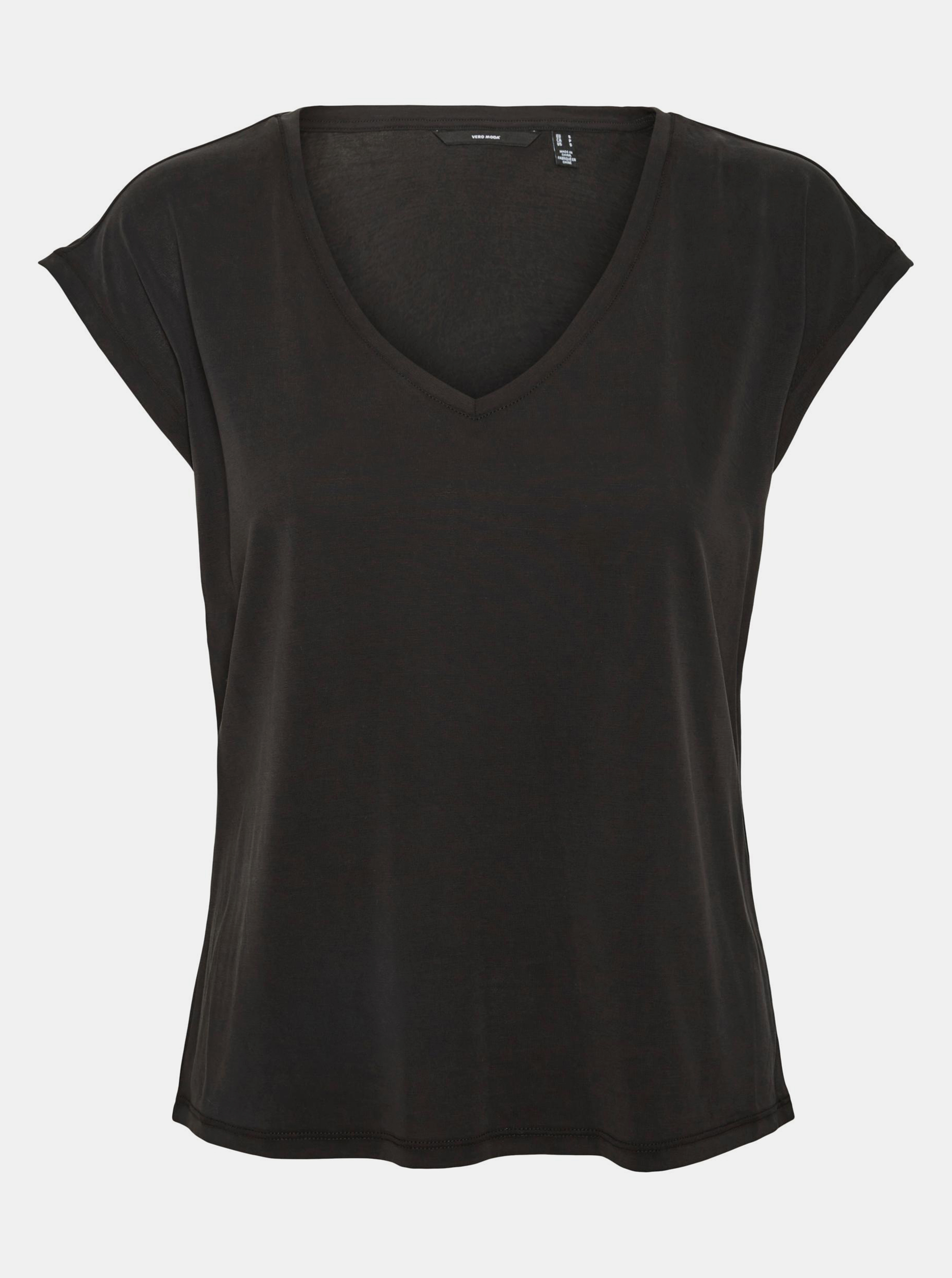 Vero Moda black T-shirt Filli