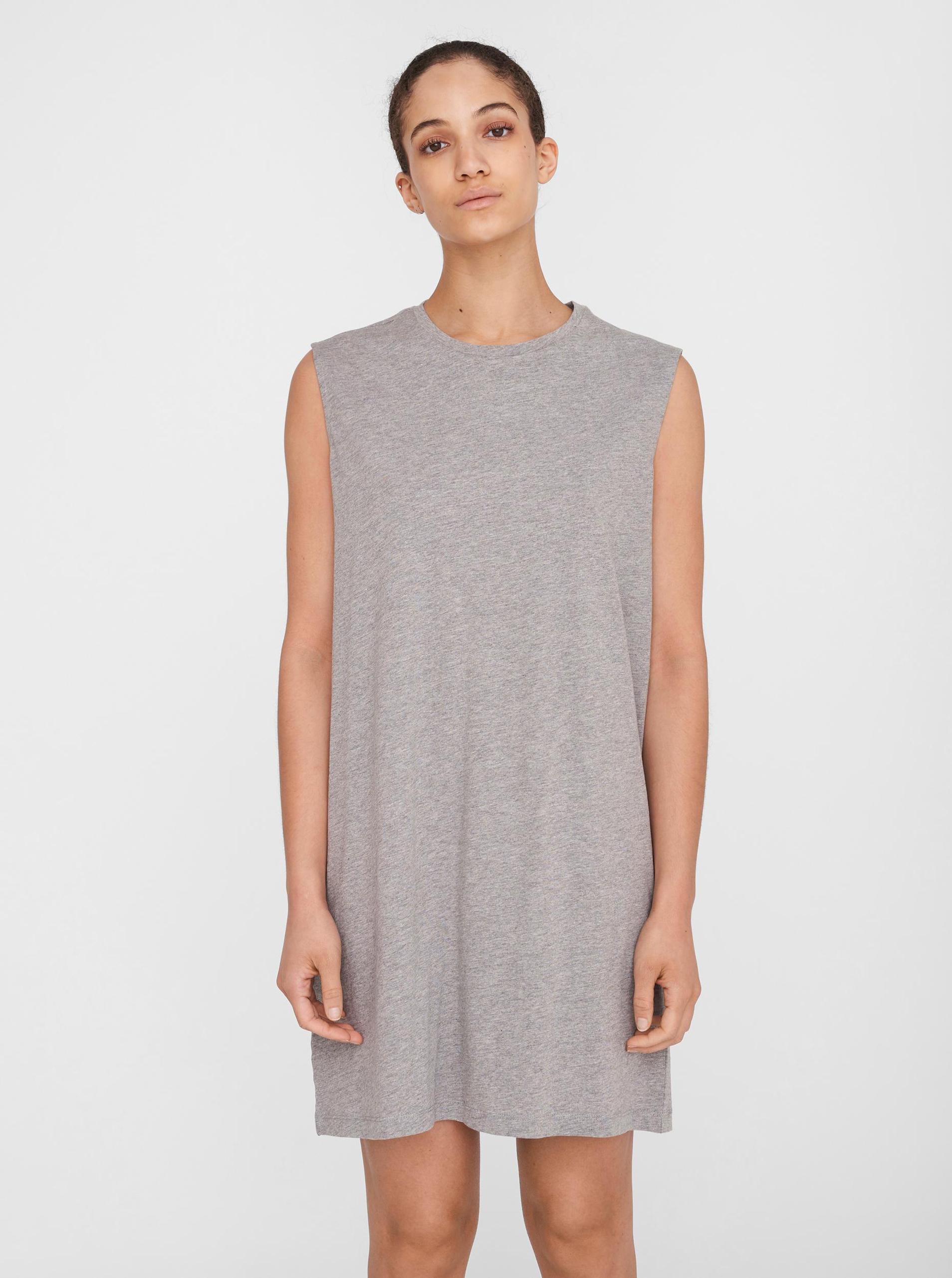 Noisy May grey dress Mayden
