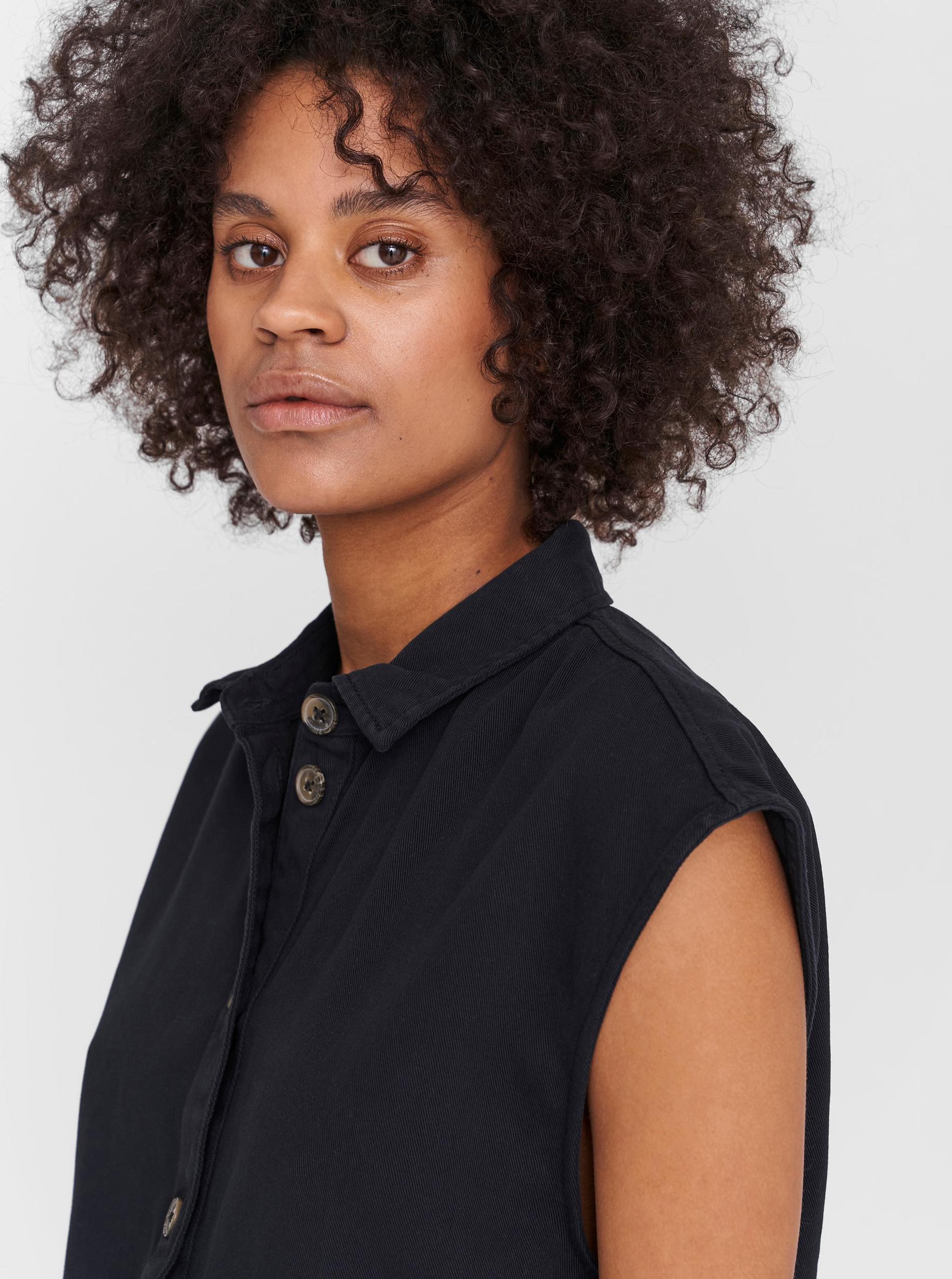 Noisy May black shirts dress