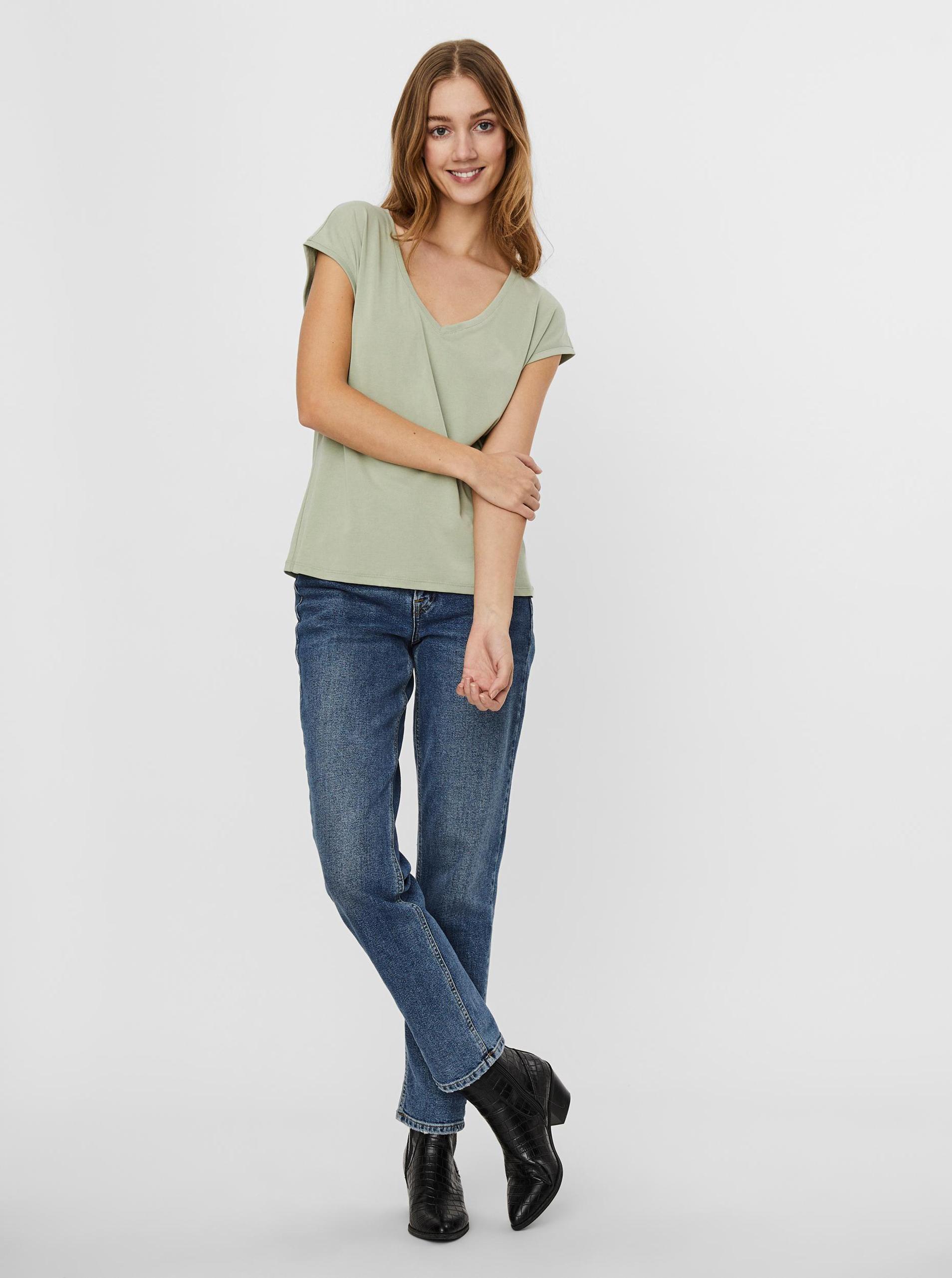 Vero Moda green T-shirt Filli
