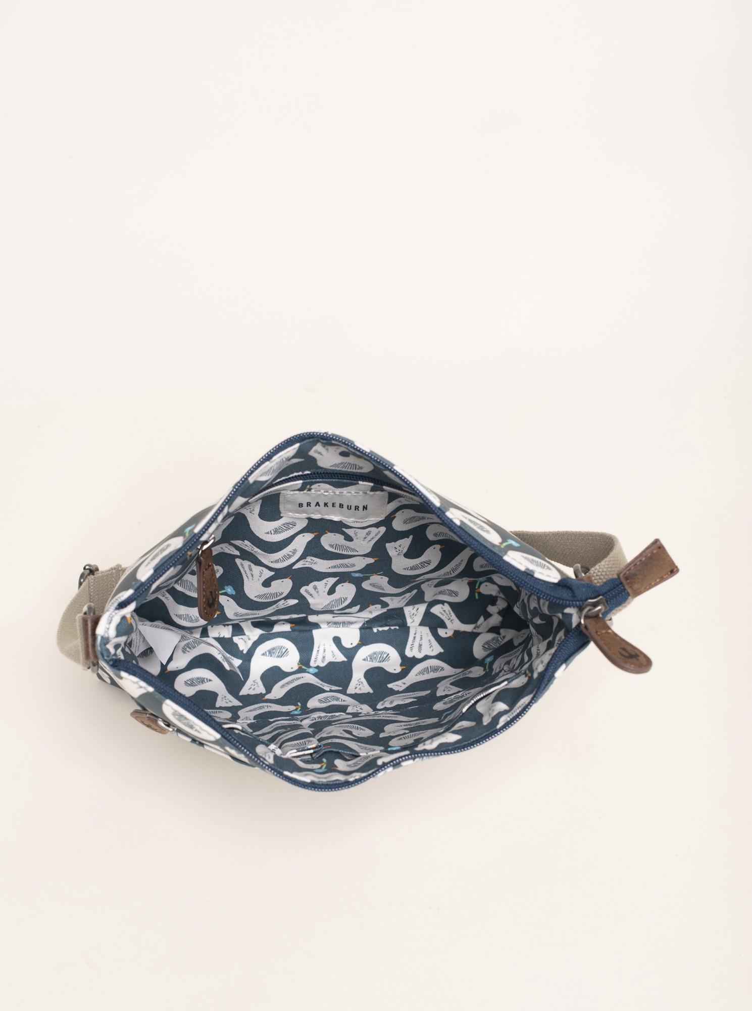Brakeburn blue handbag se vzorem
