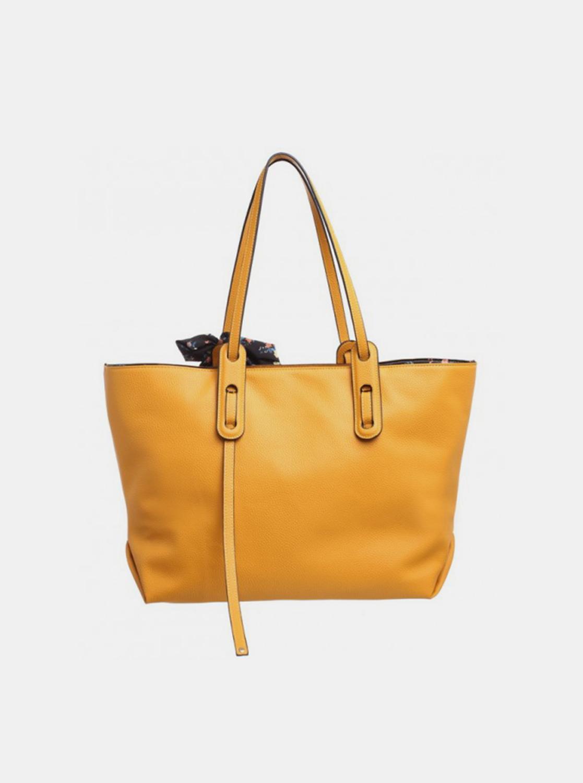 Bessie London mustard 3in1 handbag