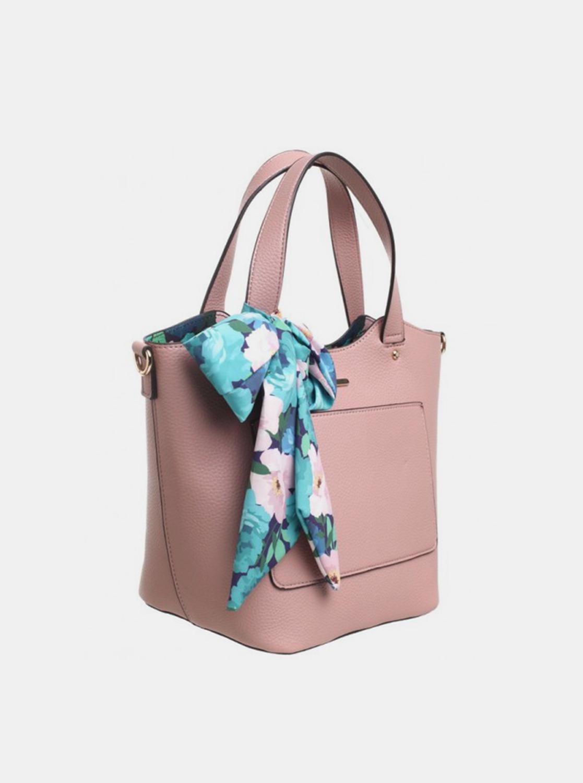 Bessie London pink 3in1 handbag