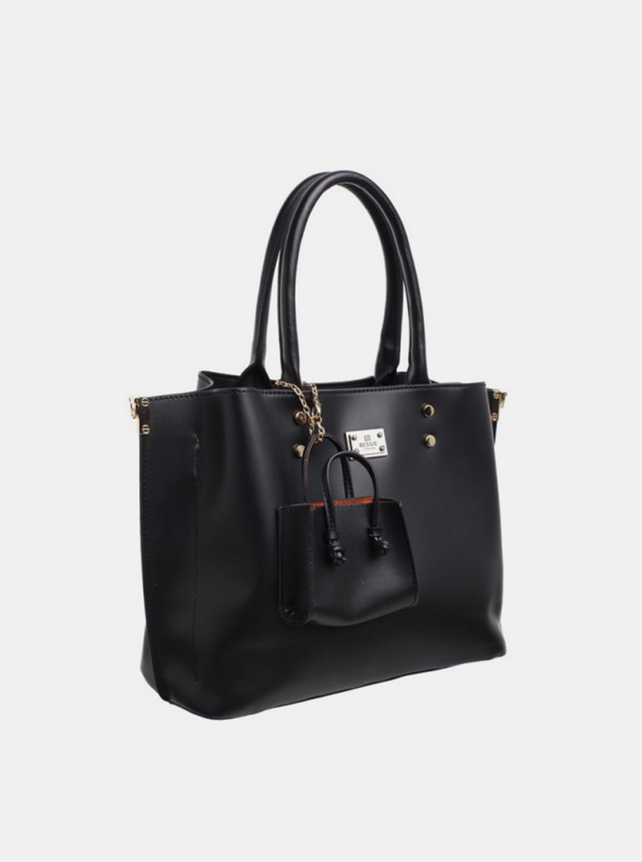 Bessie London black 2in1 handbag