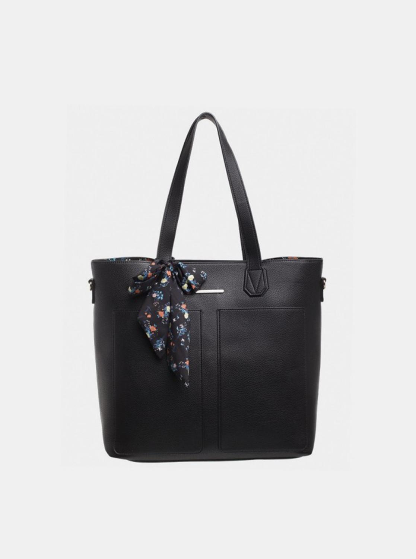 Bessie London black 3in1 handbag