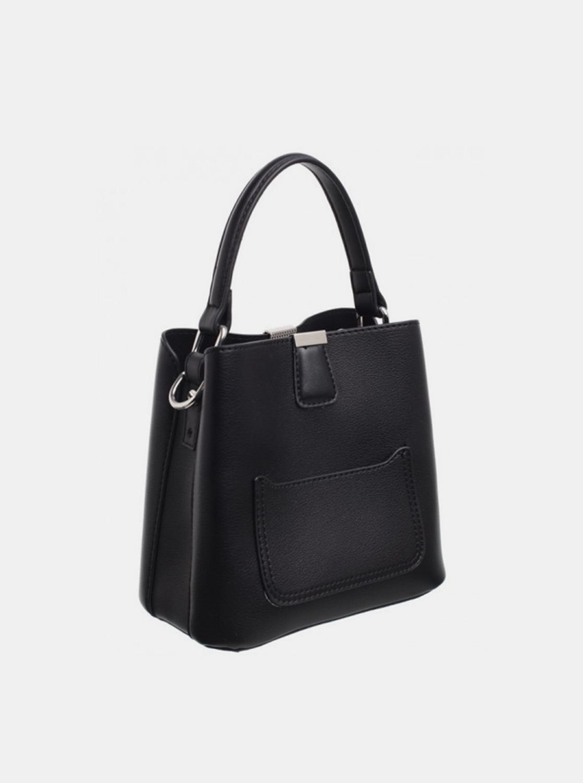 Bessie London black handbag
