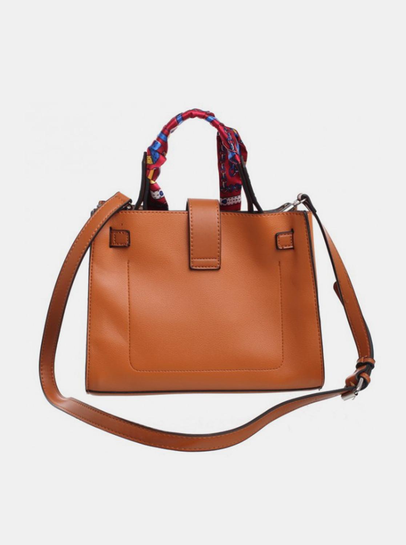 Bessie London brown handbag