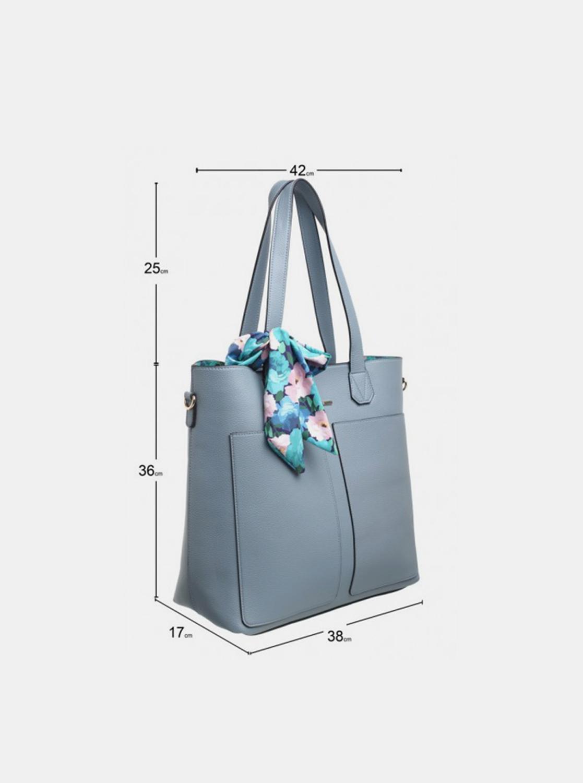 Bessie London blue 3in1 handbag
