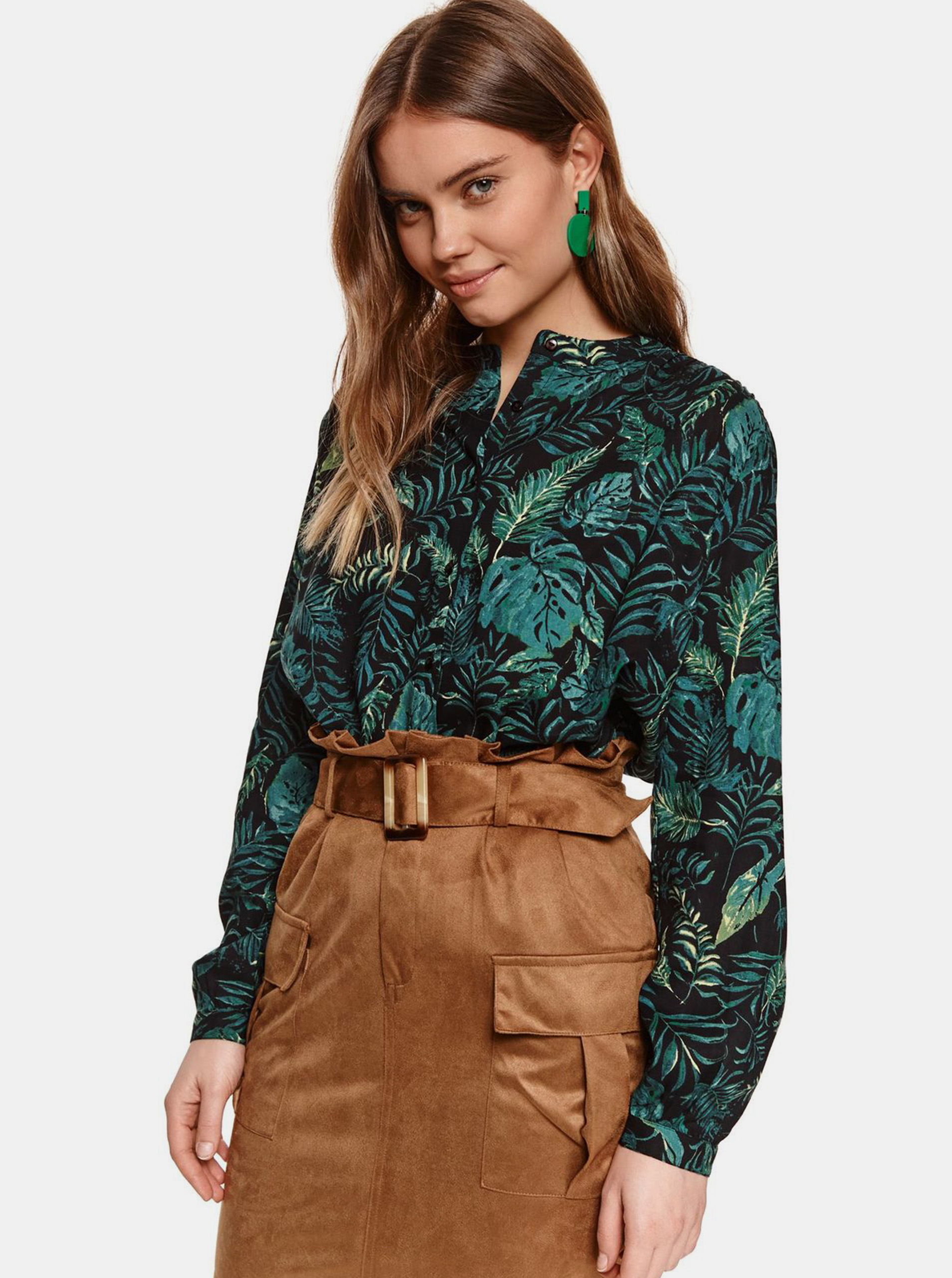 TOP SECRET blouse with pattern