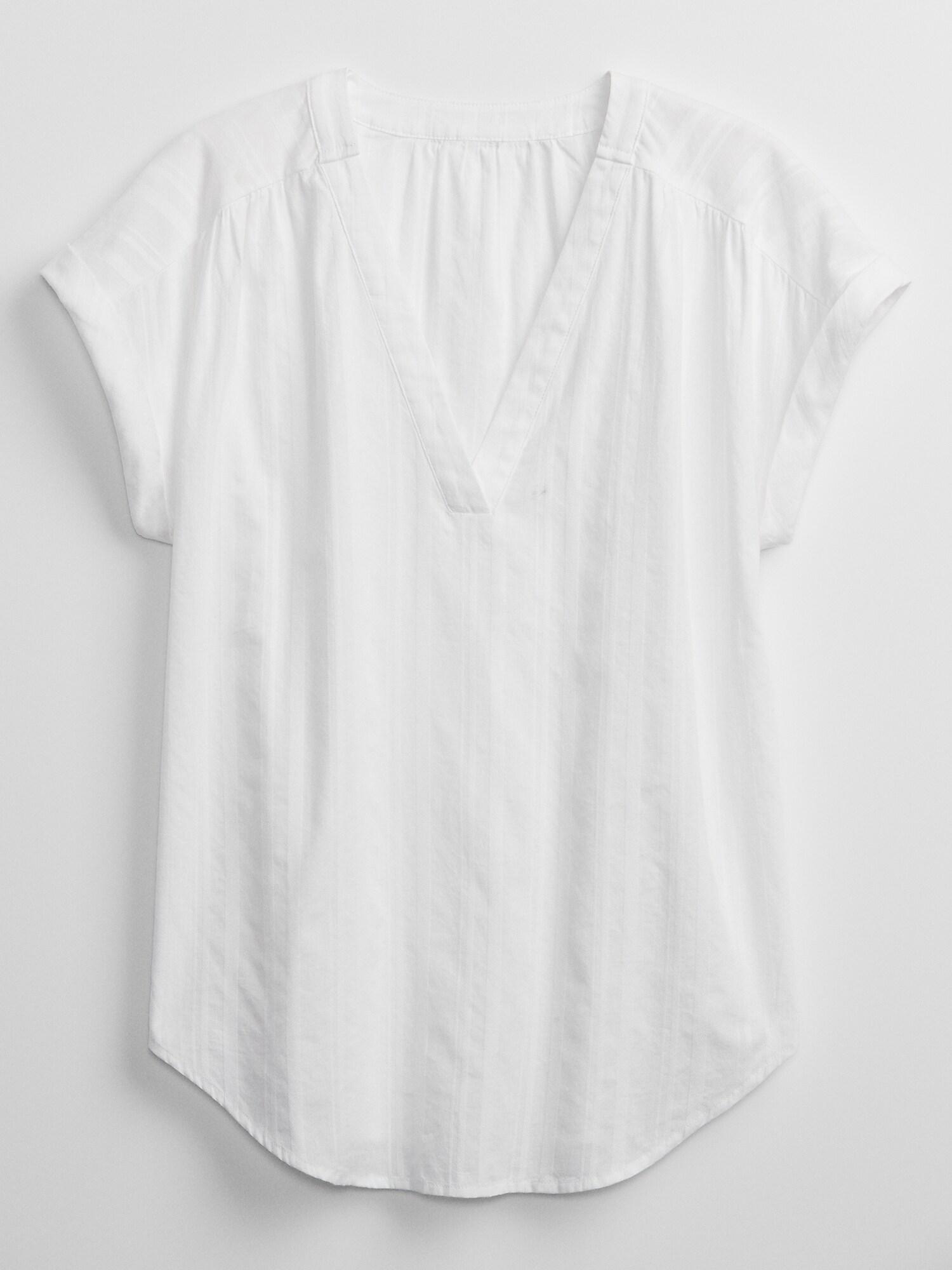GAP white blouse
