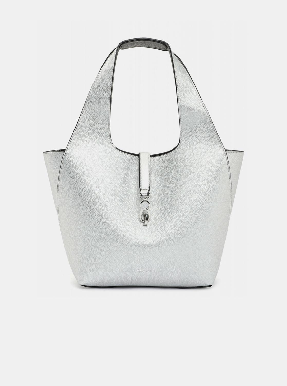 Tamaris silver reversible shopper