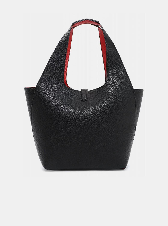 Tamaris black reversible shopper