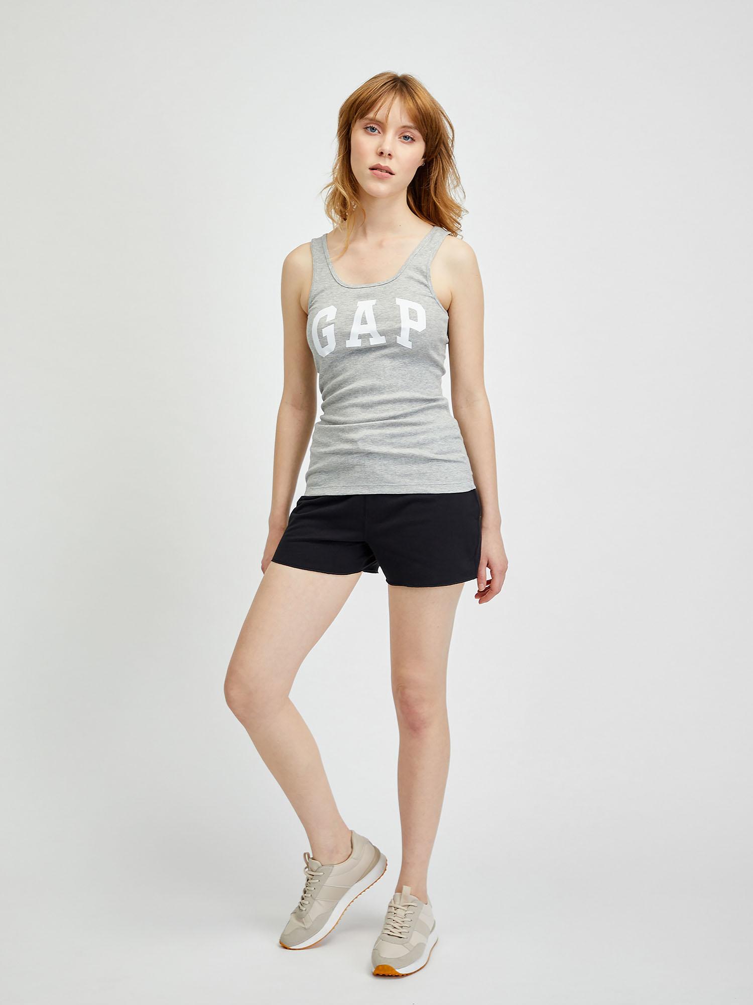 GAP beige 2 pack top Logo