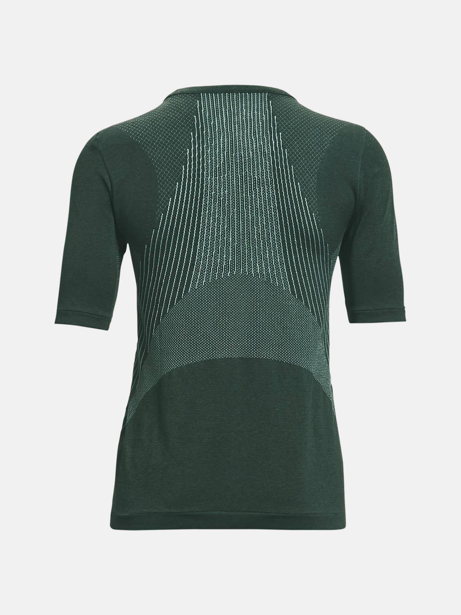 T-shirt Under Armour Rush Seamless SS-GRN